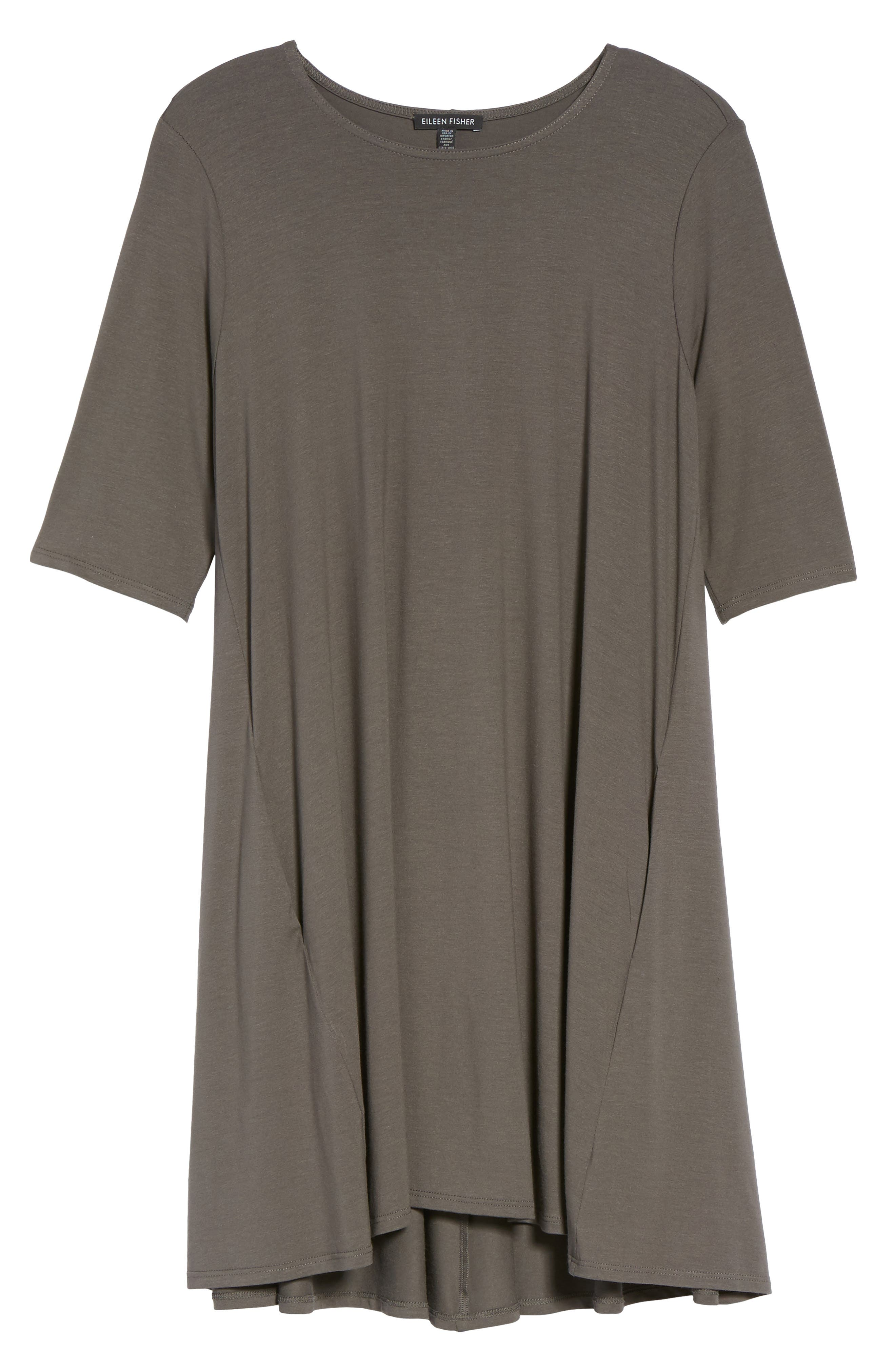 Lightweight Jersey Round Neck Tunic,                             Alternate thumbnail 31, color,