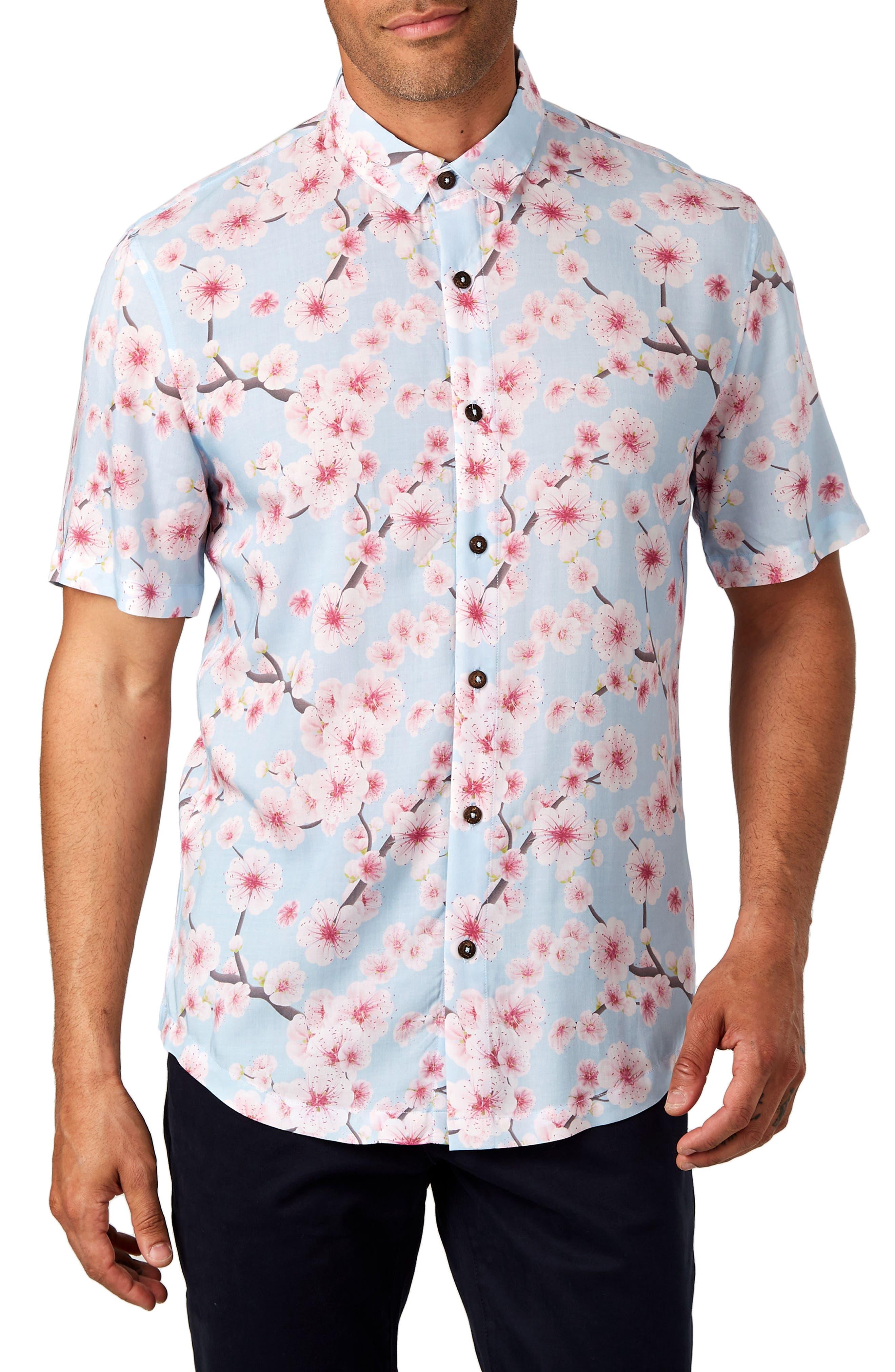Rise & Shine Trim Fit Sport Shirt,                         Main,                         color,