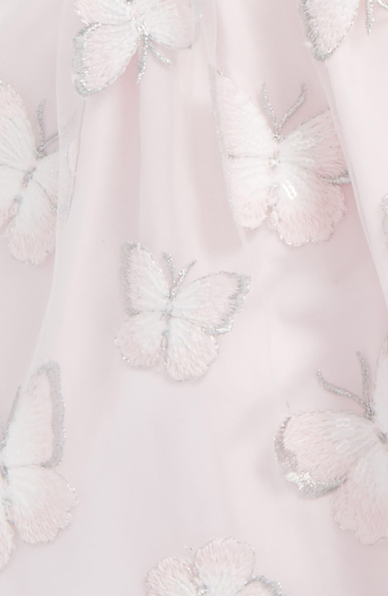 Embroidered Butterfly Dress,                             Alternate thumbnail 2, color,                             650