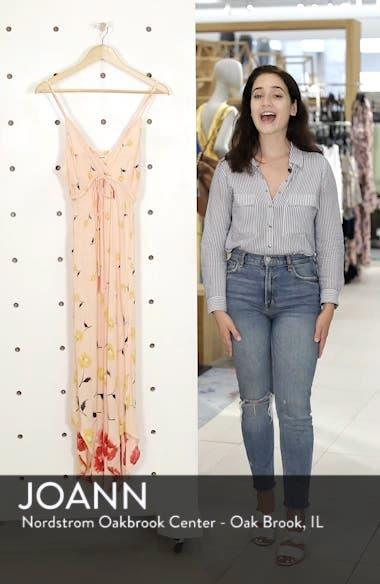 Like Minded Print Maxi Dress, sales video thumbnail