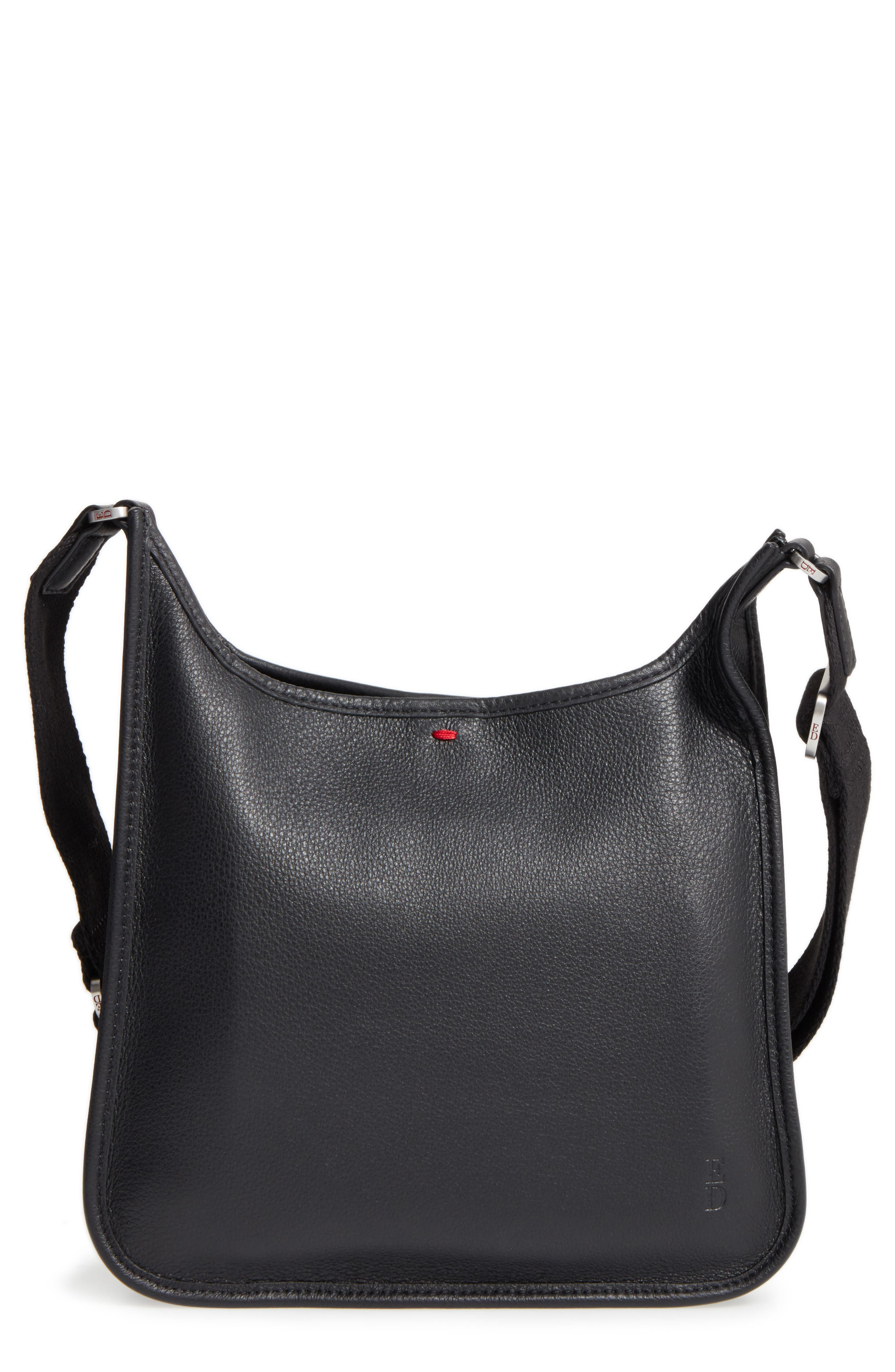 Leather Crossbody Bag,                             Main thumbnail 3, color,