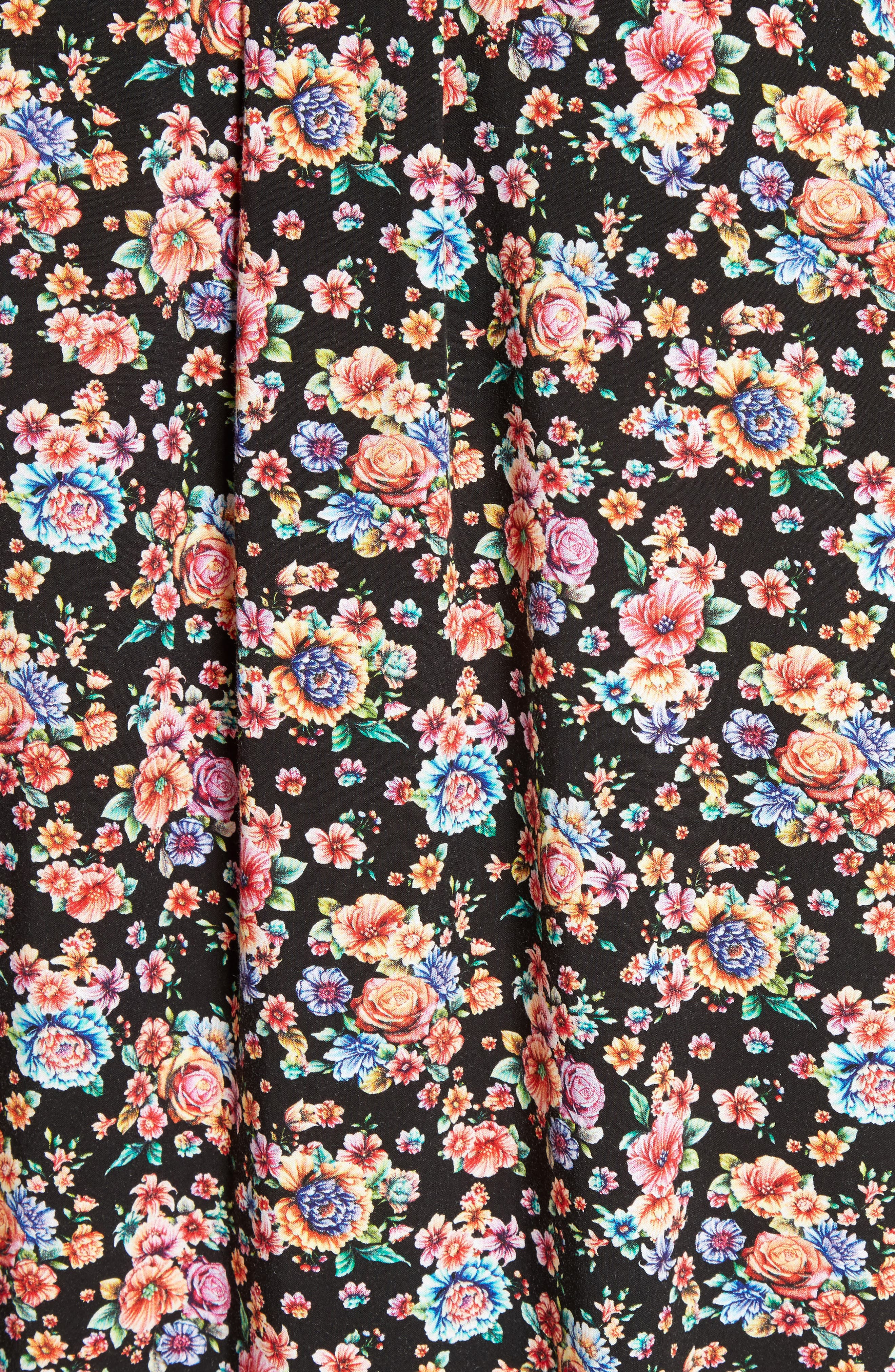 Floral Print Shirt,                             Alternate thumbnail 2, color,                             001