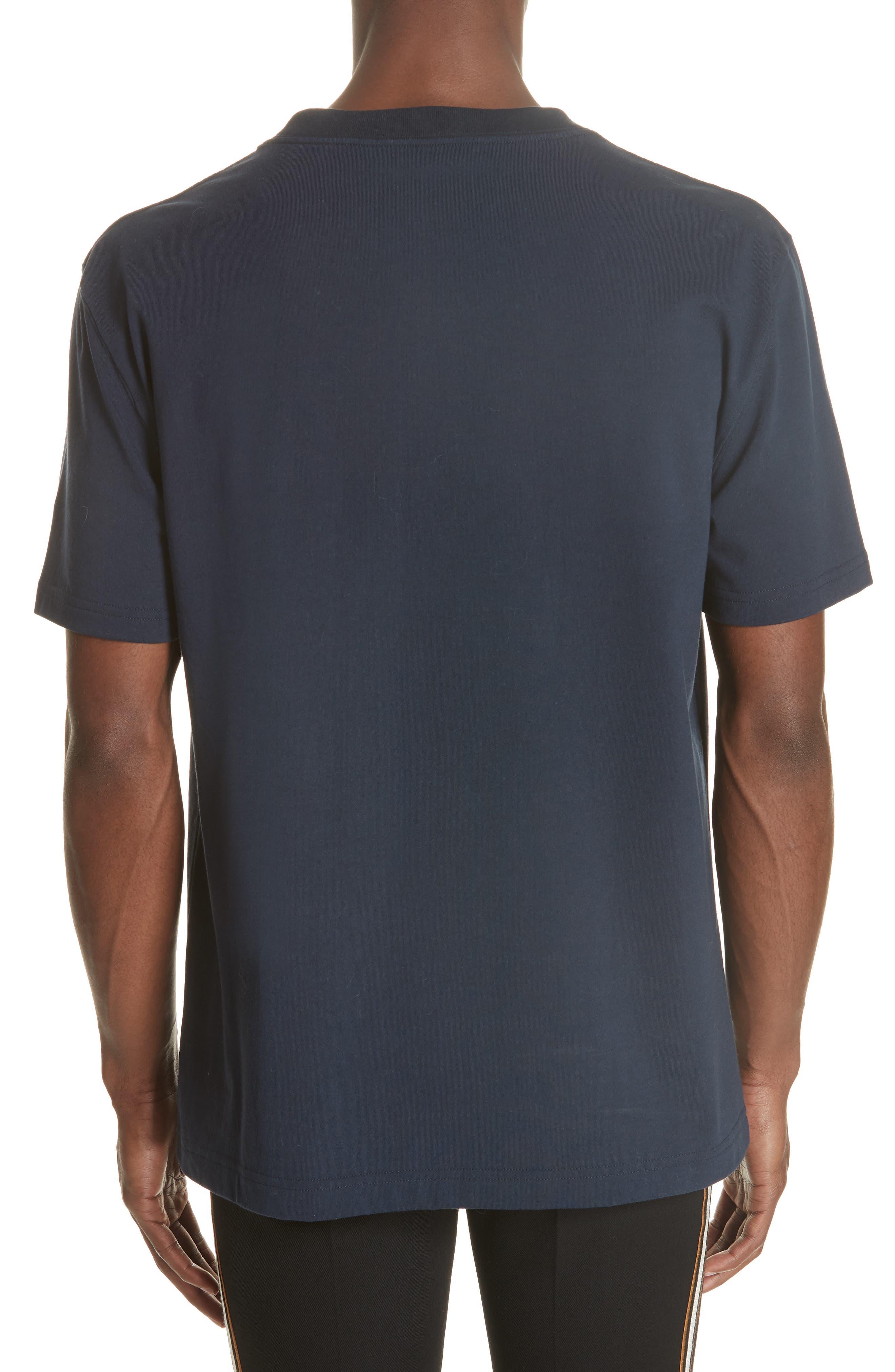 Patchwork T-Shirt,                             Alternate thumbnail 2, color,                             NAVY
