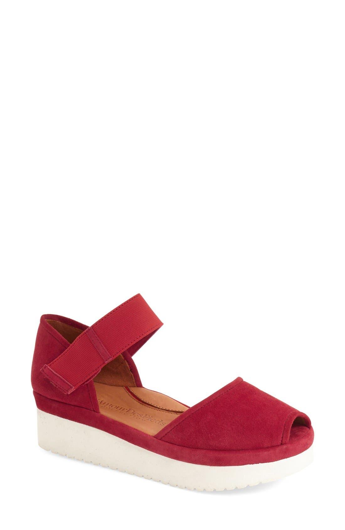 'Amadour' Platform Sandal,                             Main thumbnail 12, color,