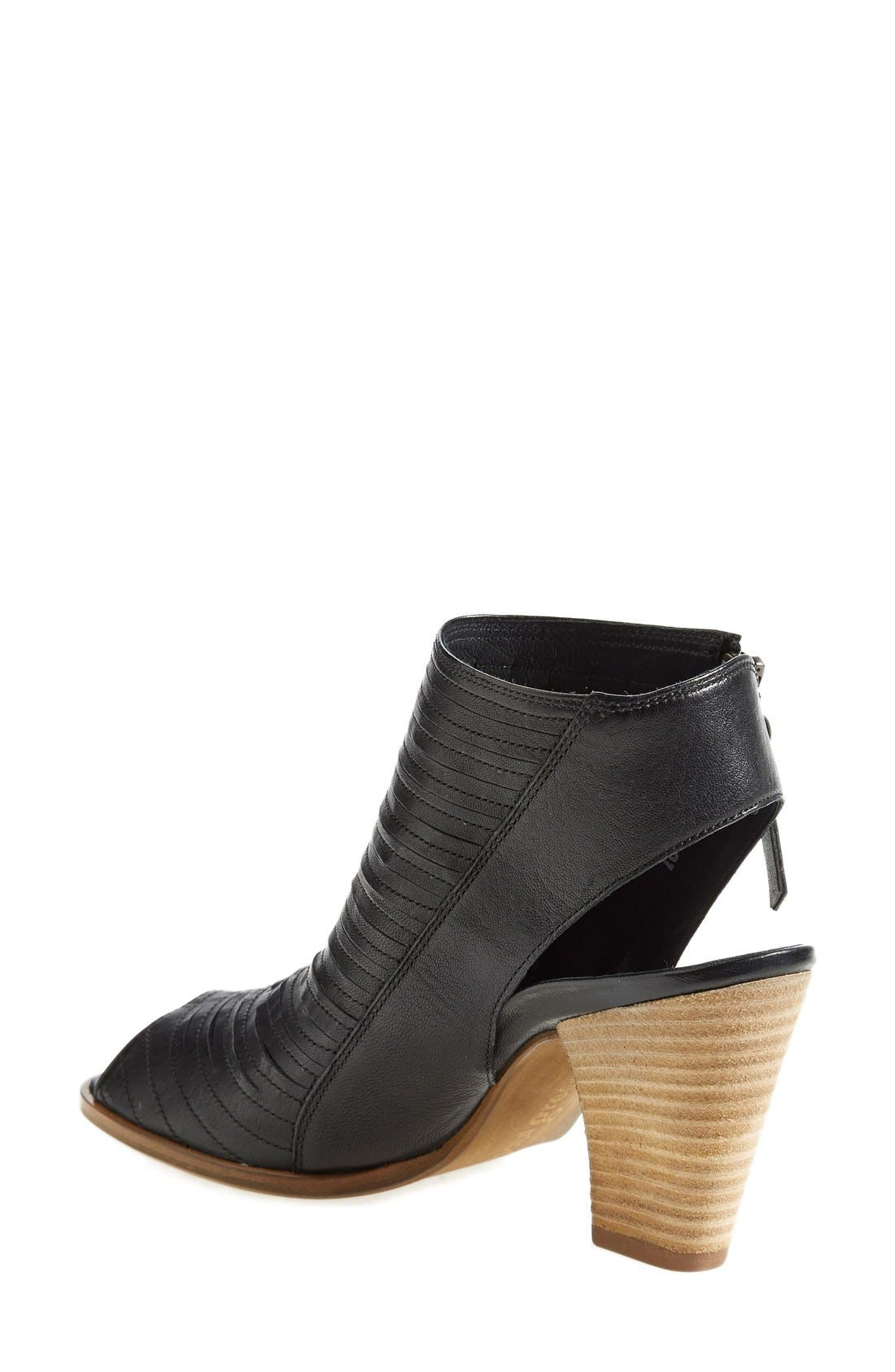 'Cayanne' Leather Peep Toe Sandal,                             Alternate thumbnail 32, color,