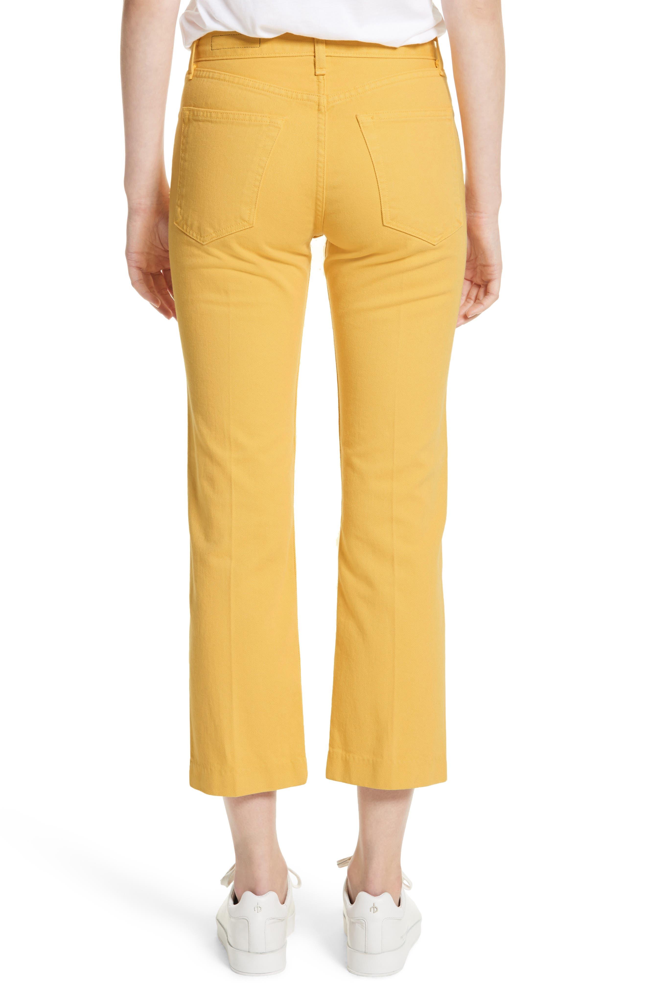 Straight Leg Crop Jeans,                             Alternate thumbnail 2, color,                             730