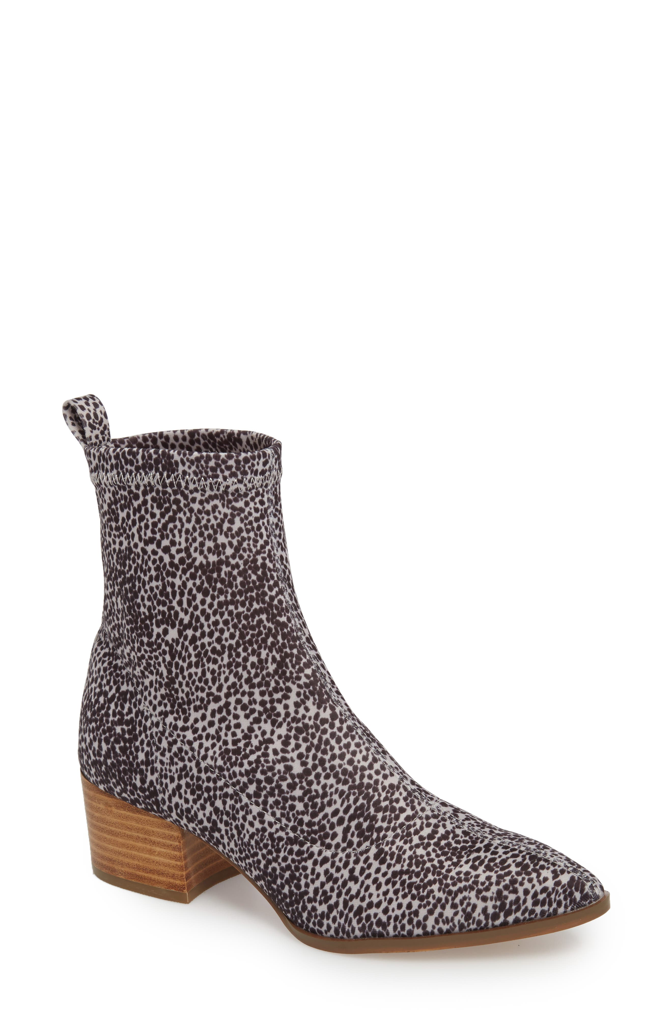 Amuse Society x Matisse Liliana Sock Bootie,                             Main thumbnail 1, color,                             111