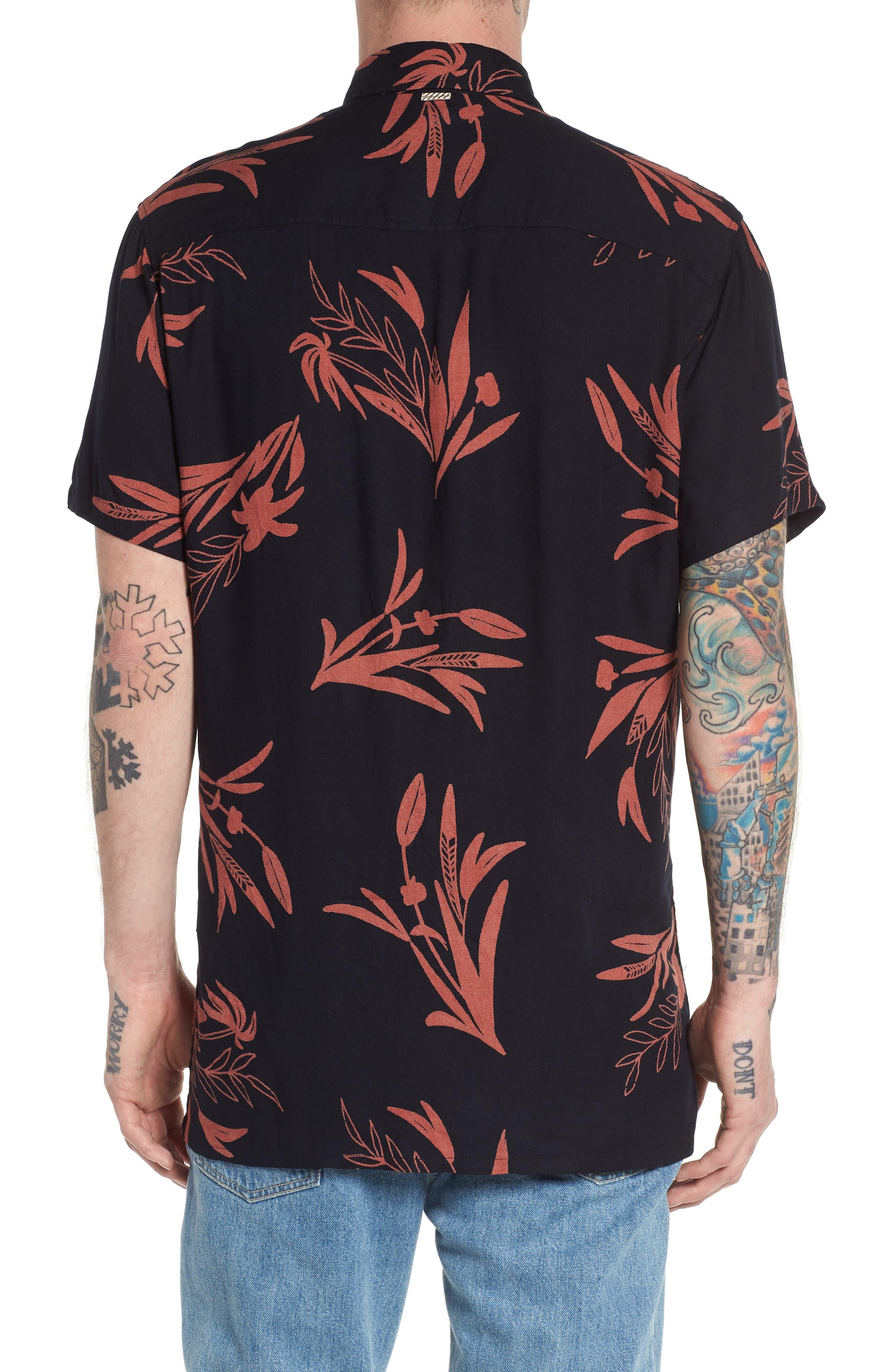 Simmer Short Sleeve Shirt,                             Alternate thumbnail 2, color,                             001