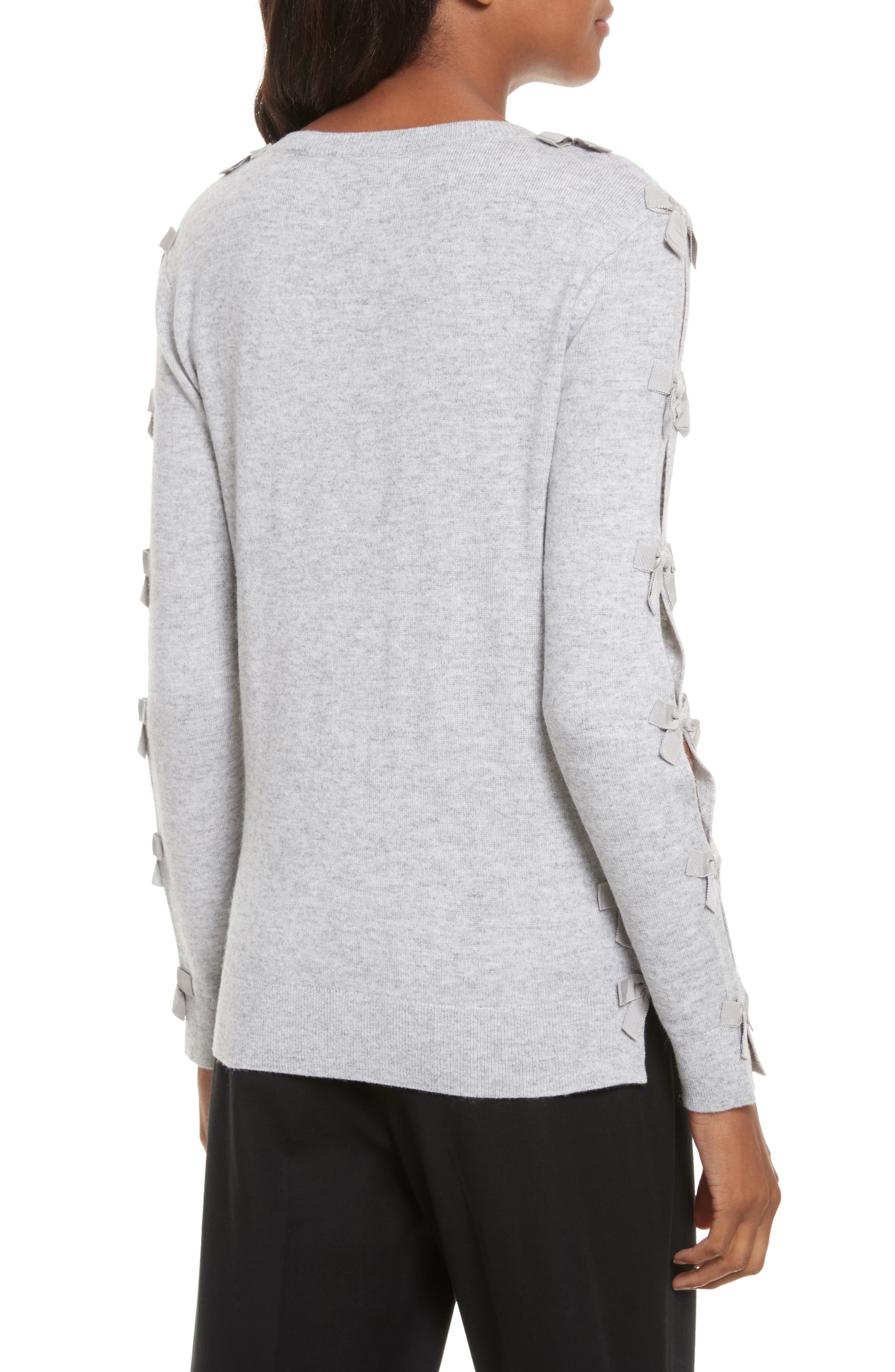 Bow Sleeve Sweater,                             Alternate thumbnail 2, color,                             050