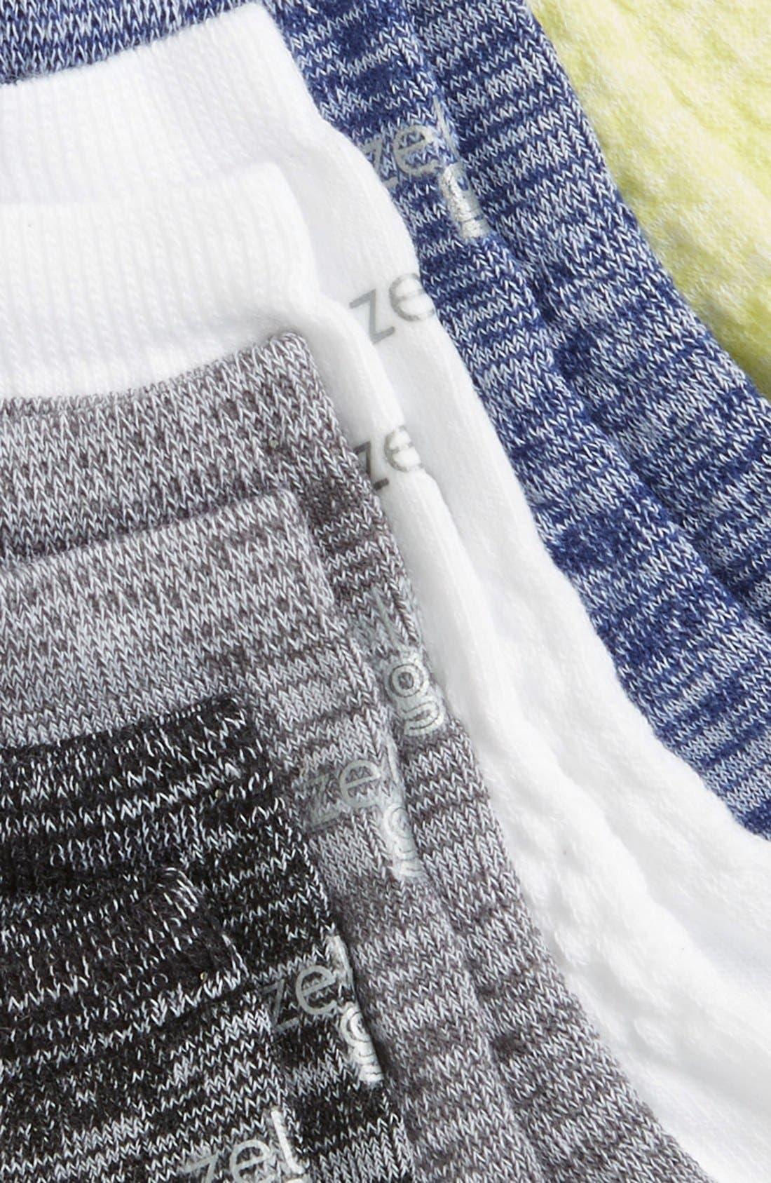 6-Pack Ankle Socks,                             Alternate thumbnail 17, color,