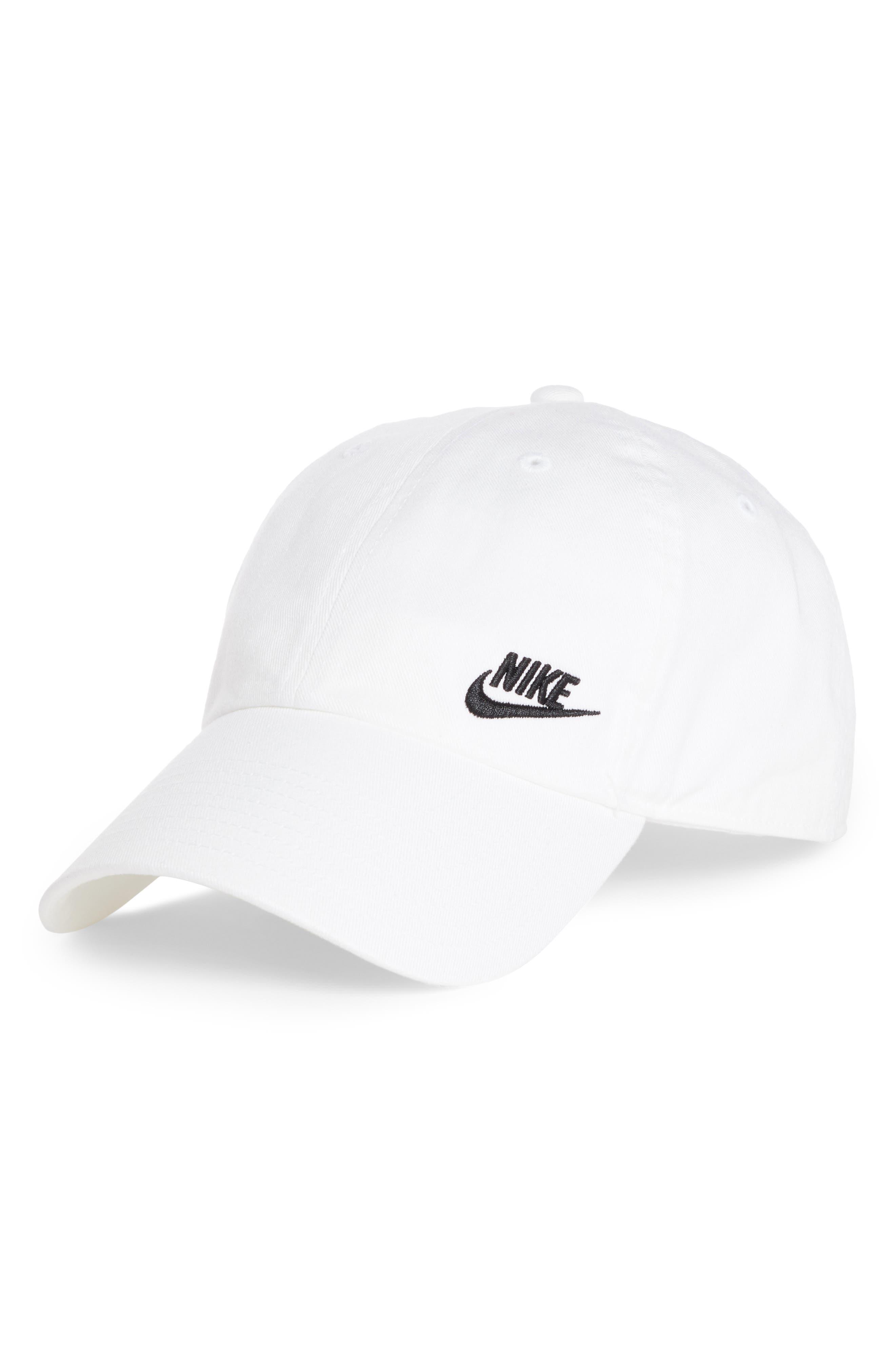 Futura Classic Cap,                         Main,                         color, WHITE/ BLACK