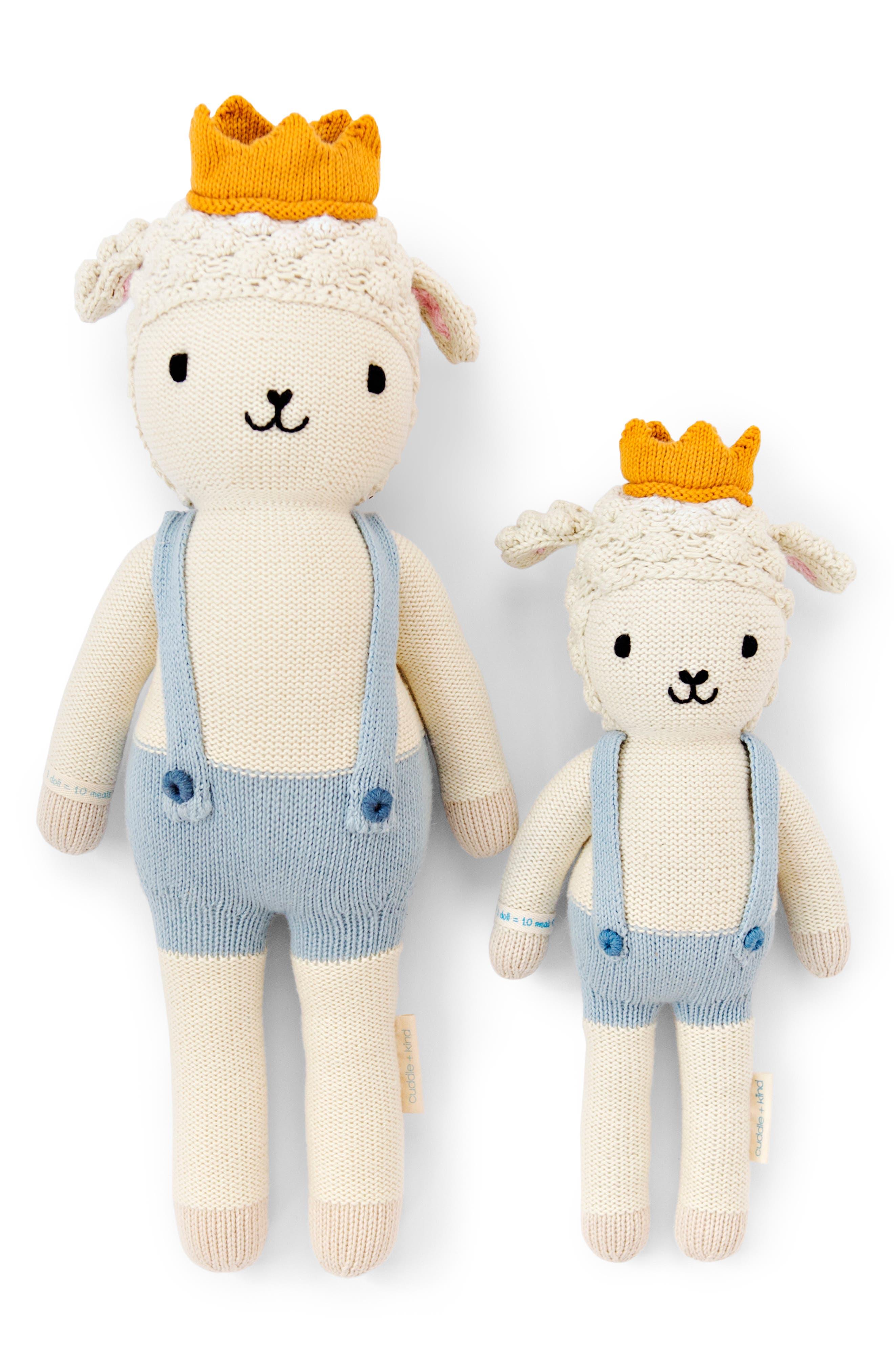 Toddler Boys Cuddle  Kind Sebastian The Lamb Stuffed Animal