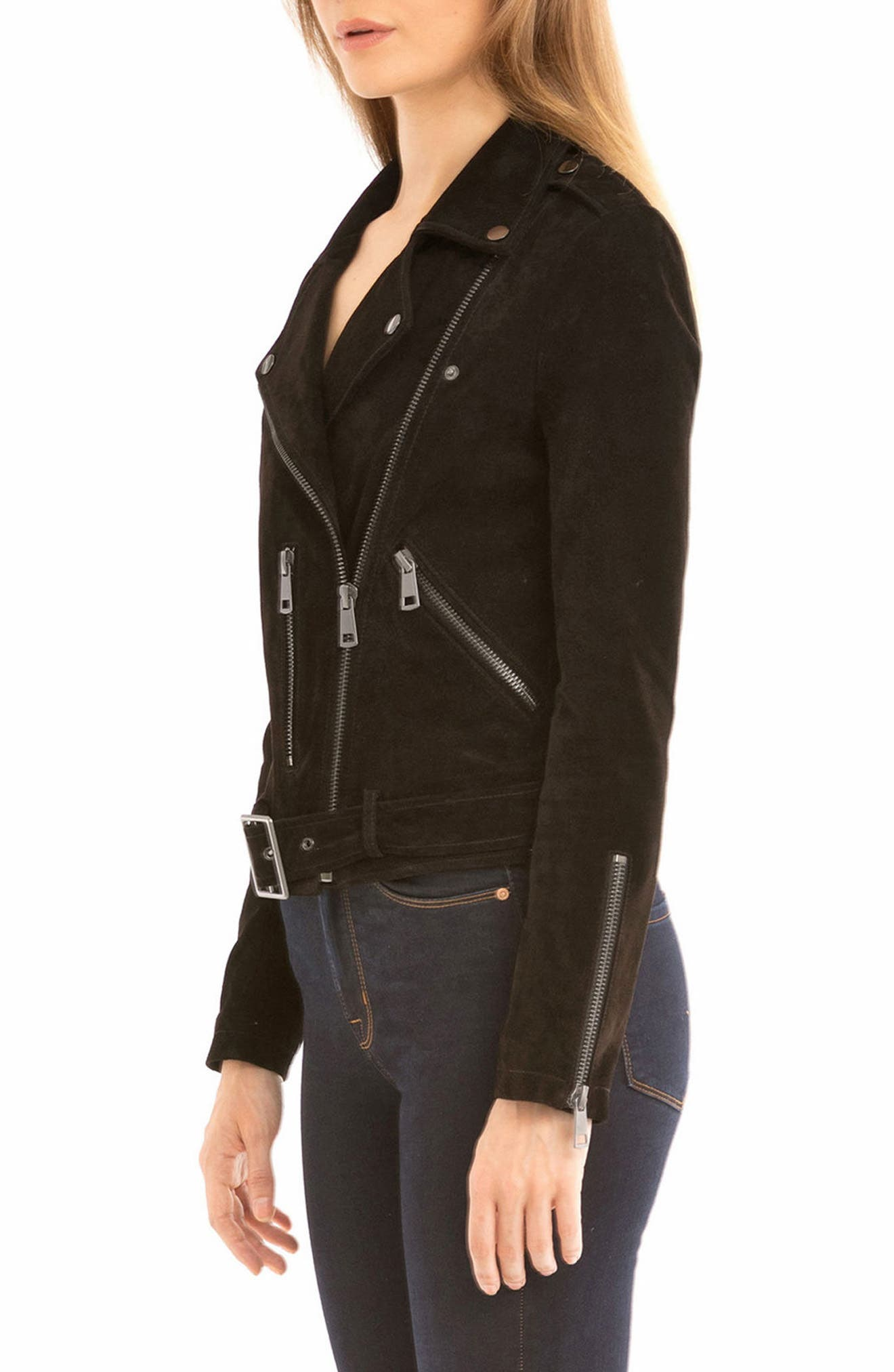 NYC  Suede Jacket,                             Alternate thumbnail 18, color,