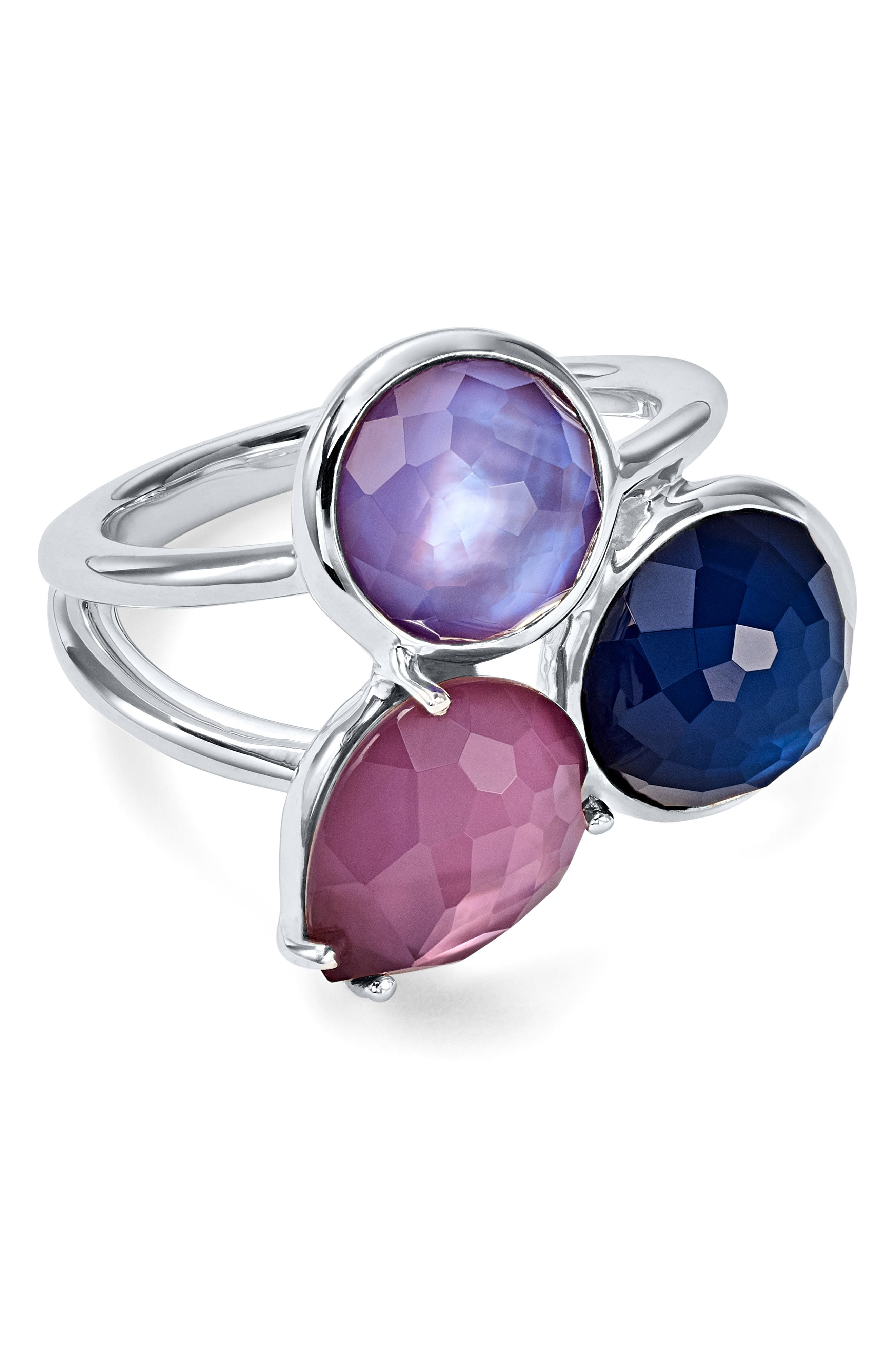 Wonderland Cluster Ring,                         Main,                         color, TUNDRA