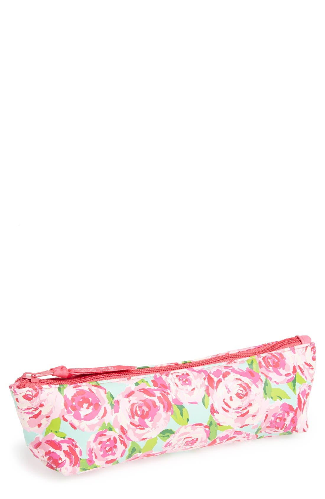 LILLY PULITZER<SUP>®</SUP>,                             Pencil Pouch,                             Main thumbnail 1, color,                             440