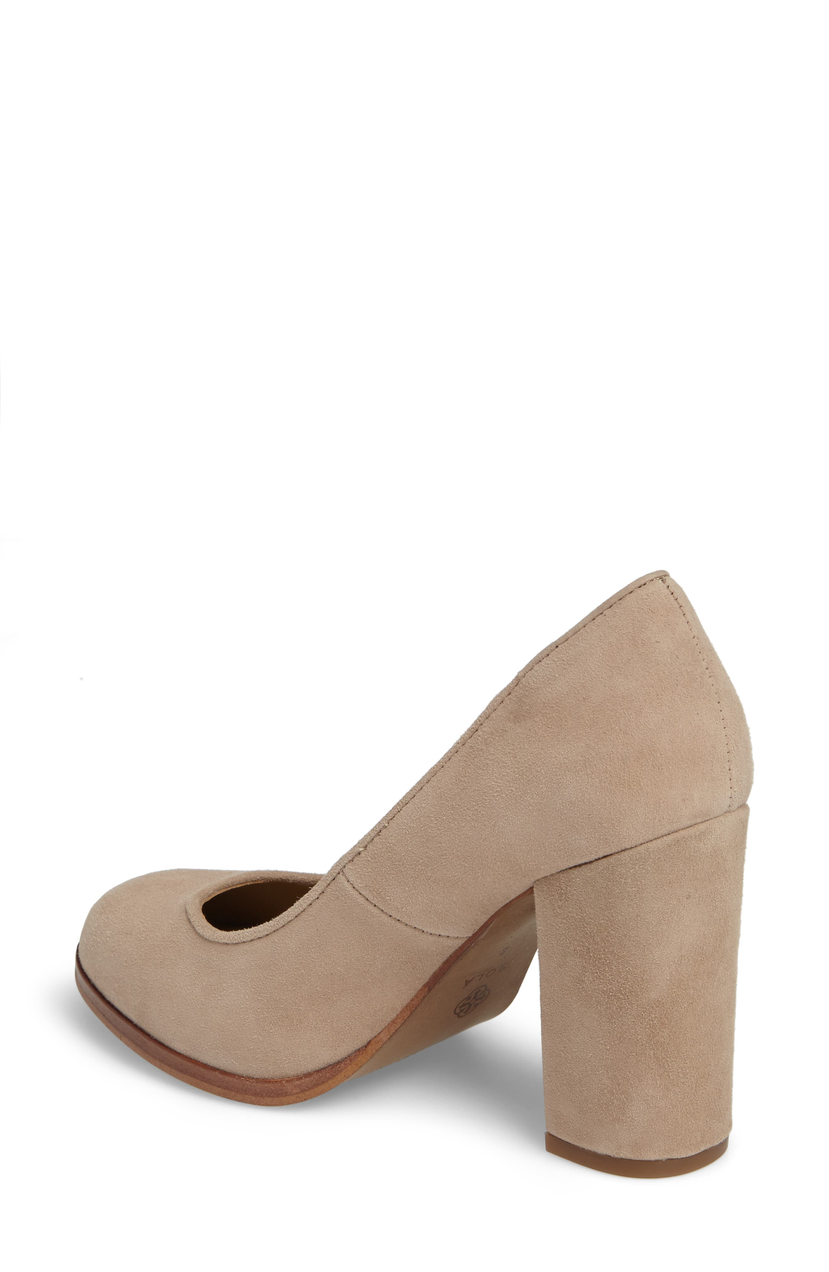 Hayley Pump,                             Alternate thumbnail 2, color,                             BAYWATER SUEDE