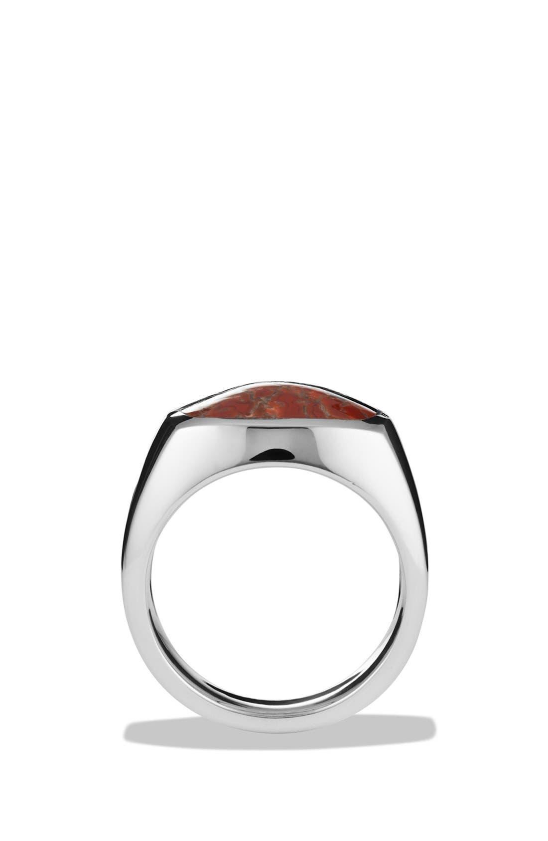 'Chevron' Signet Ring,                             Alternate thumbnail 20, color,
