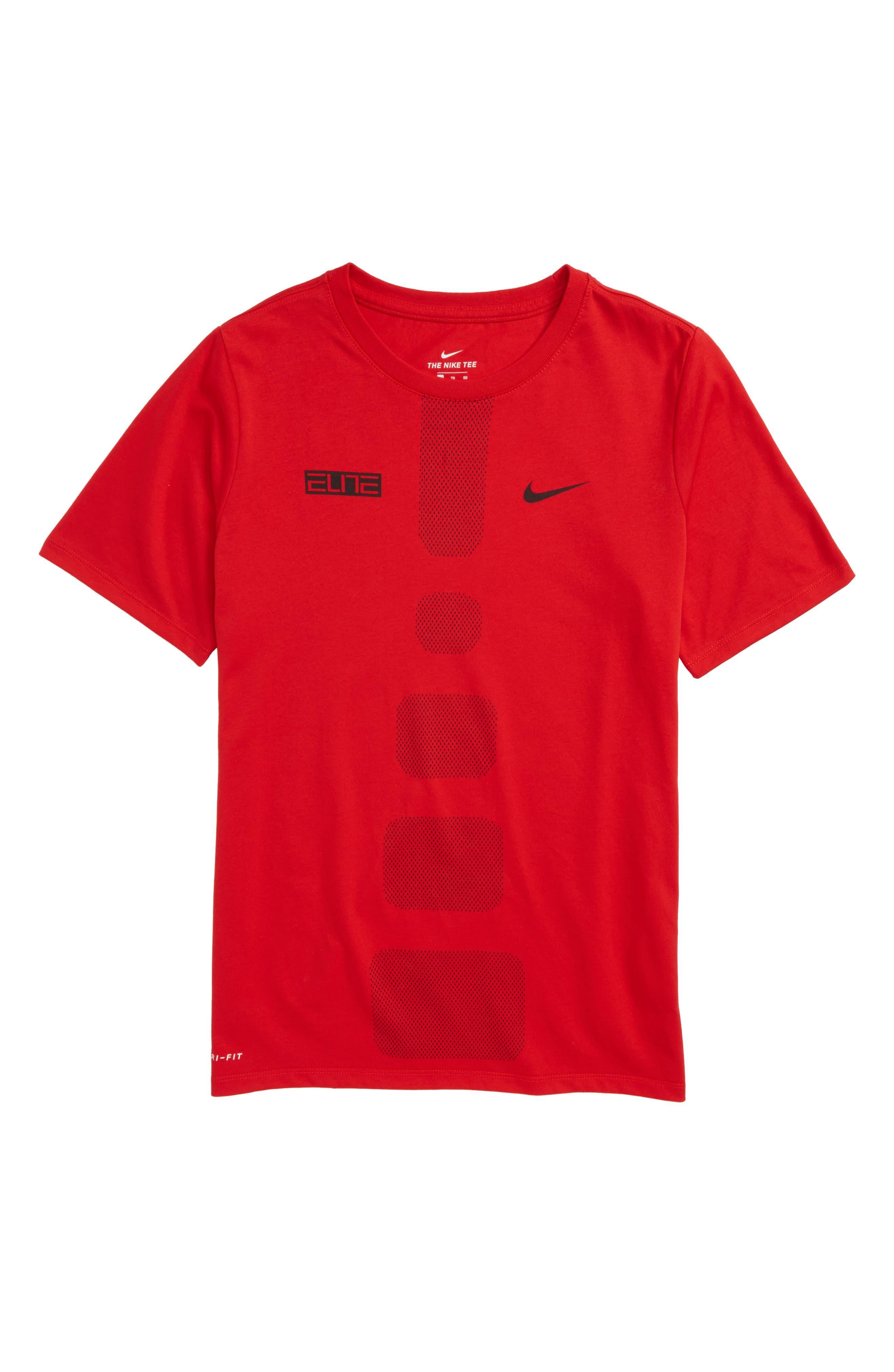 Dry Elite Athletic Fit T-Shirt,                             Main thumbnail 4, color,