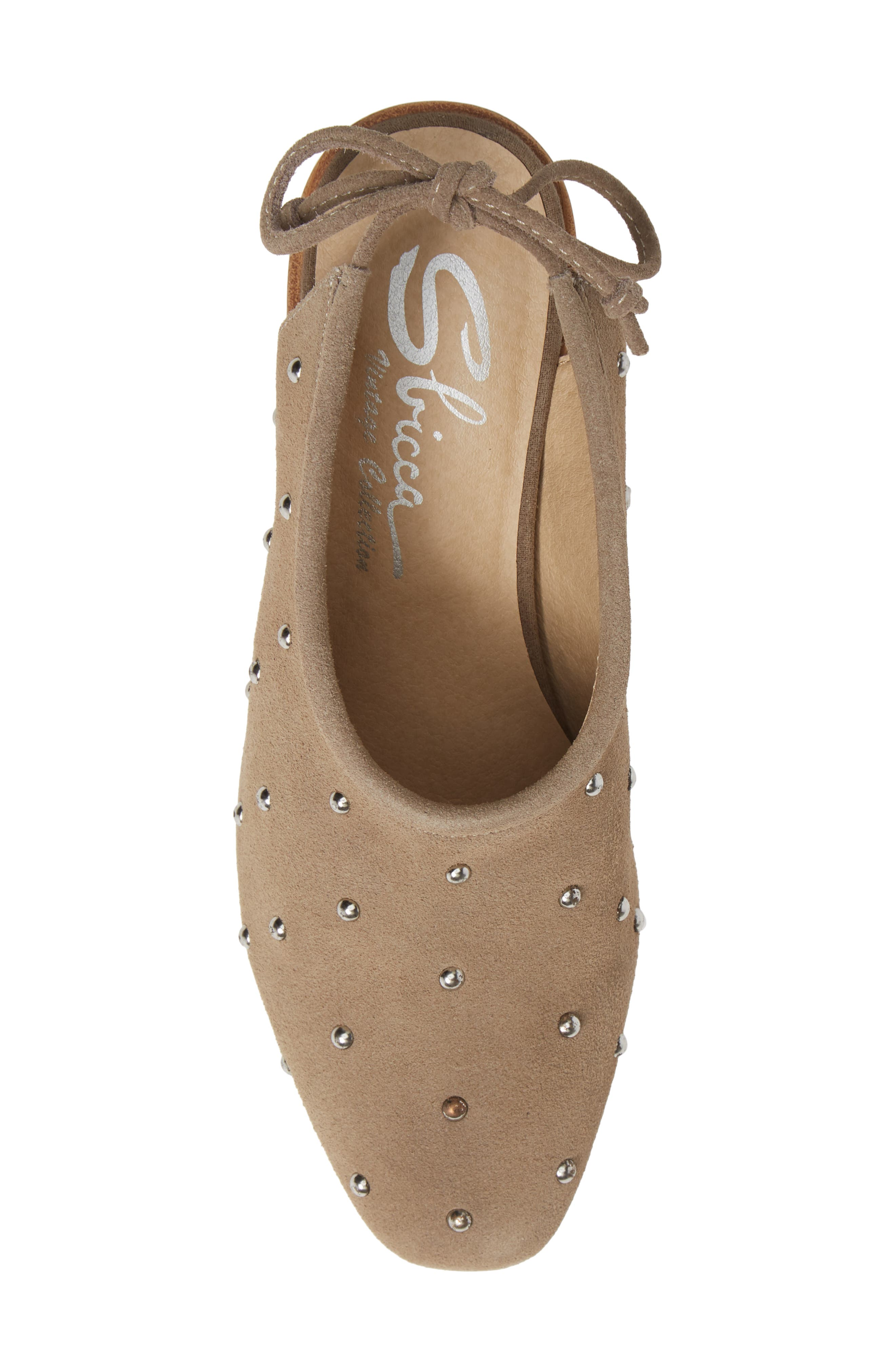 SBICCA,                             Janette Block Heel Pump,                             Alternate thumbnail 5, color,                             STONE LEATHER