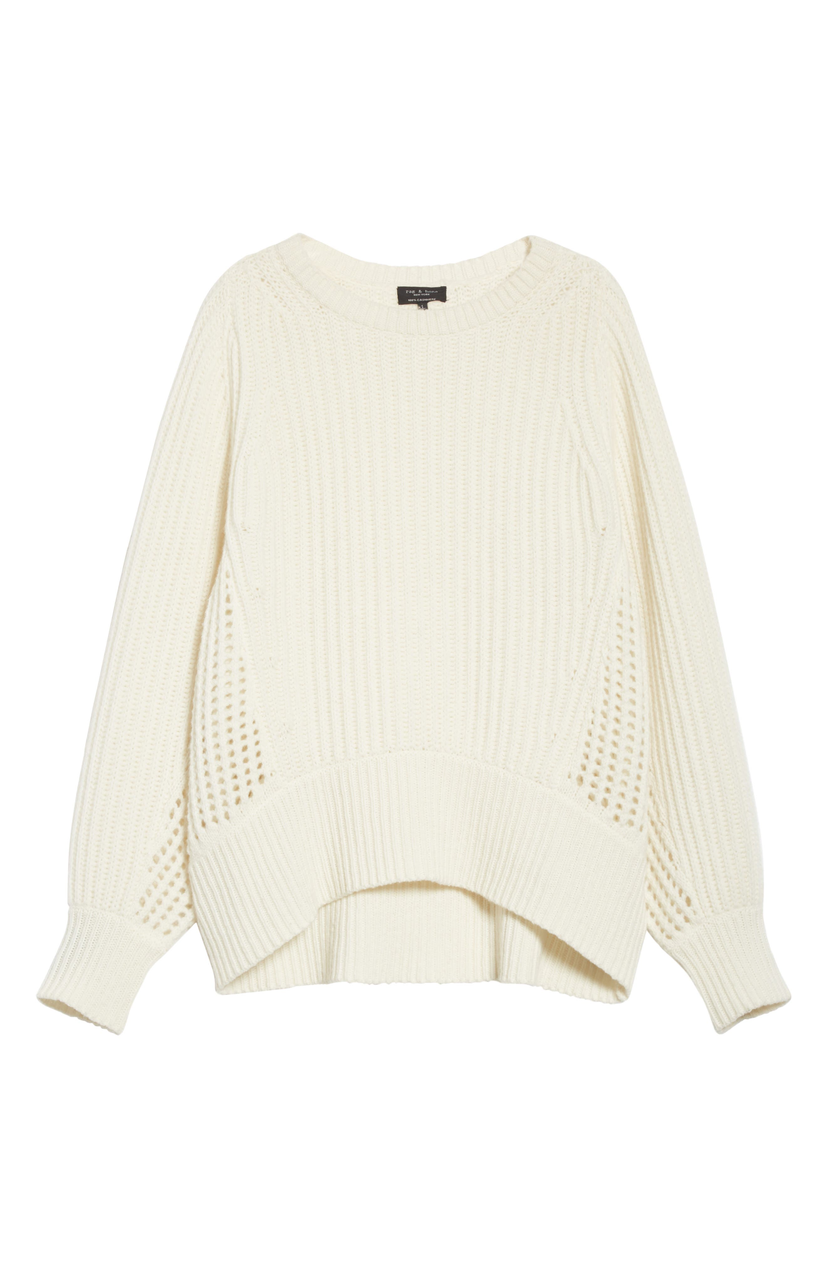 Athena Cashmere Pullover,                             Alternate thumbnail 12, color,