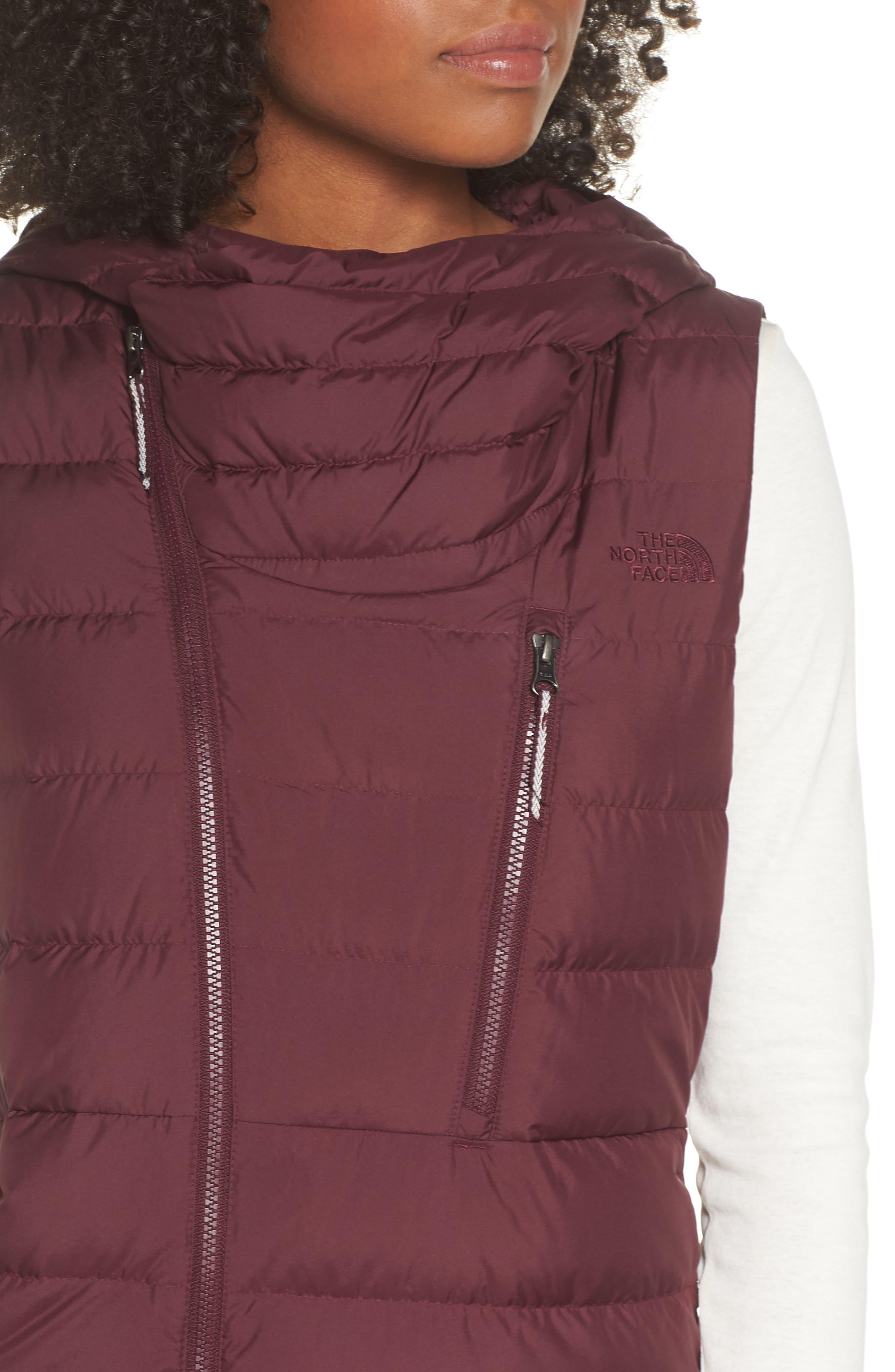 Niche Hooded Down Vest,                             Alternate thumbnail 4, color,                             FIG