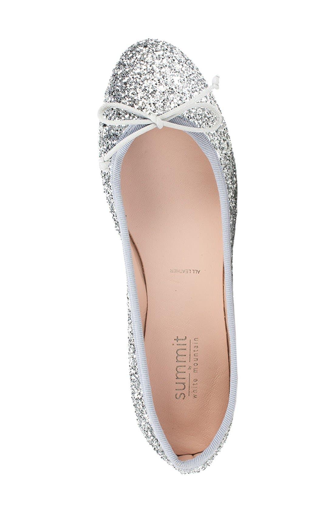 Summit 'Kendall' Ballet Flat,                             Alternate thumbnail 34, color,