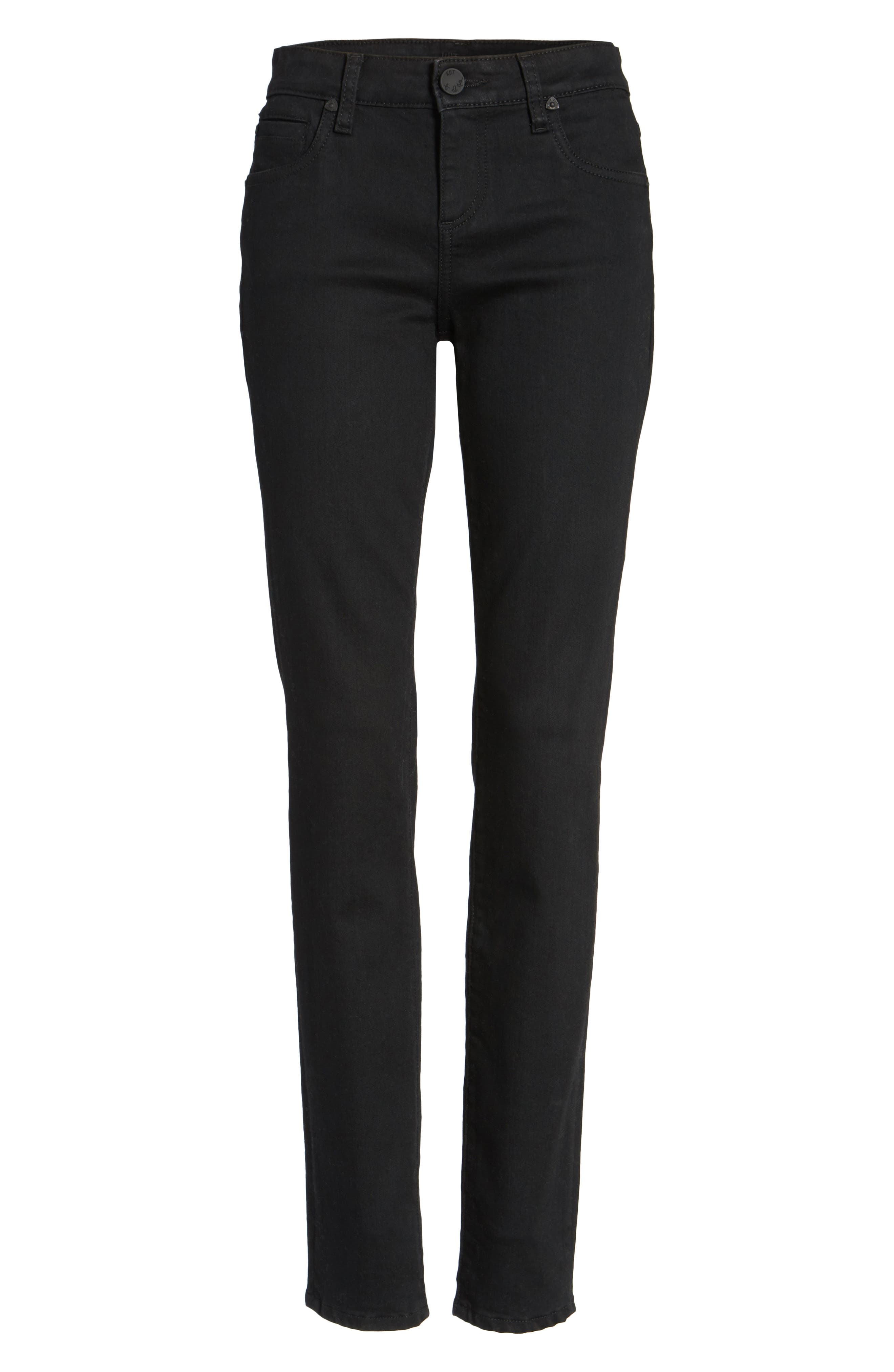 Diana Stretch Skinny Jeans,                             Alternate thumbnail 7, color,                             002