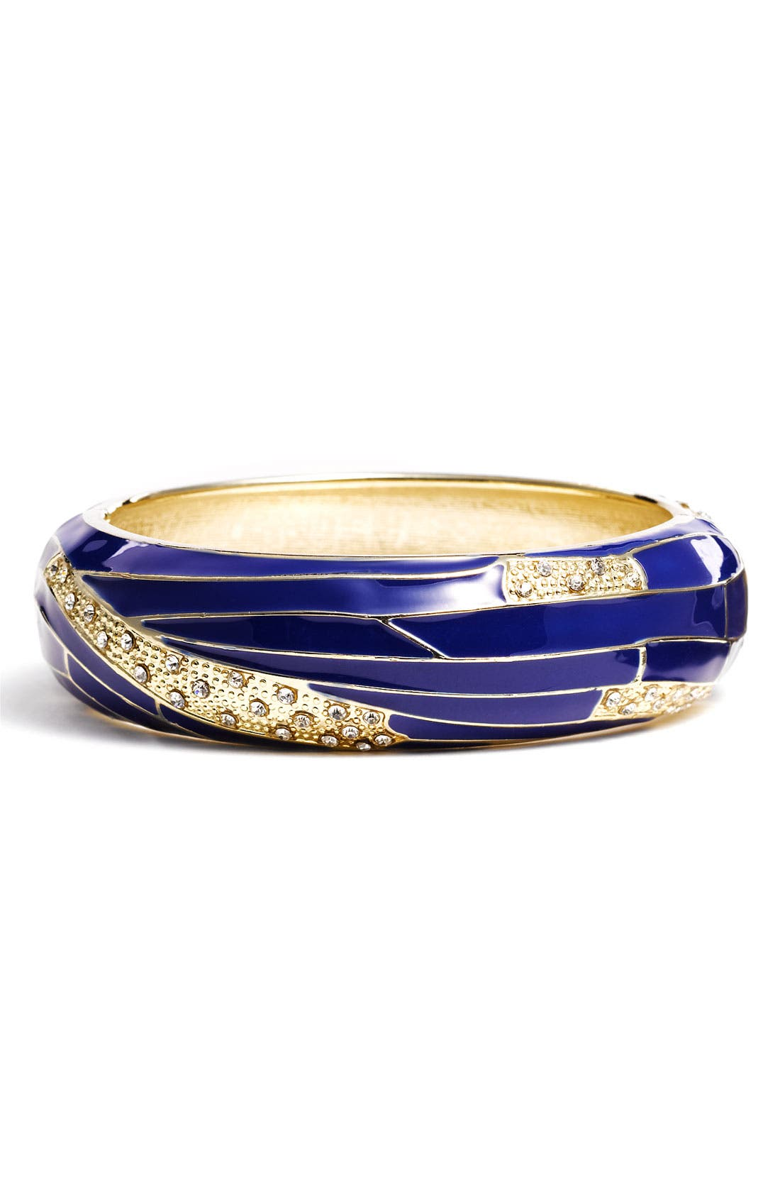 Large Insect Wing Enamel Bangle,                             Main thumbnail 8, color,