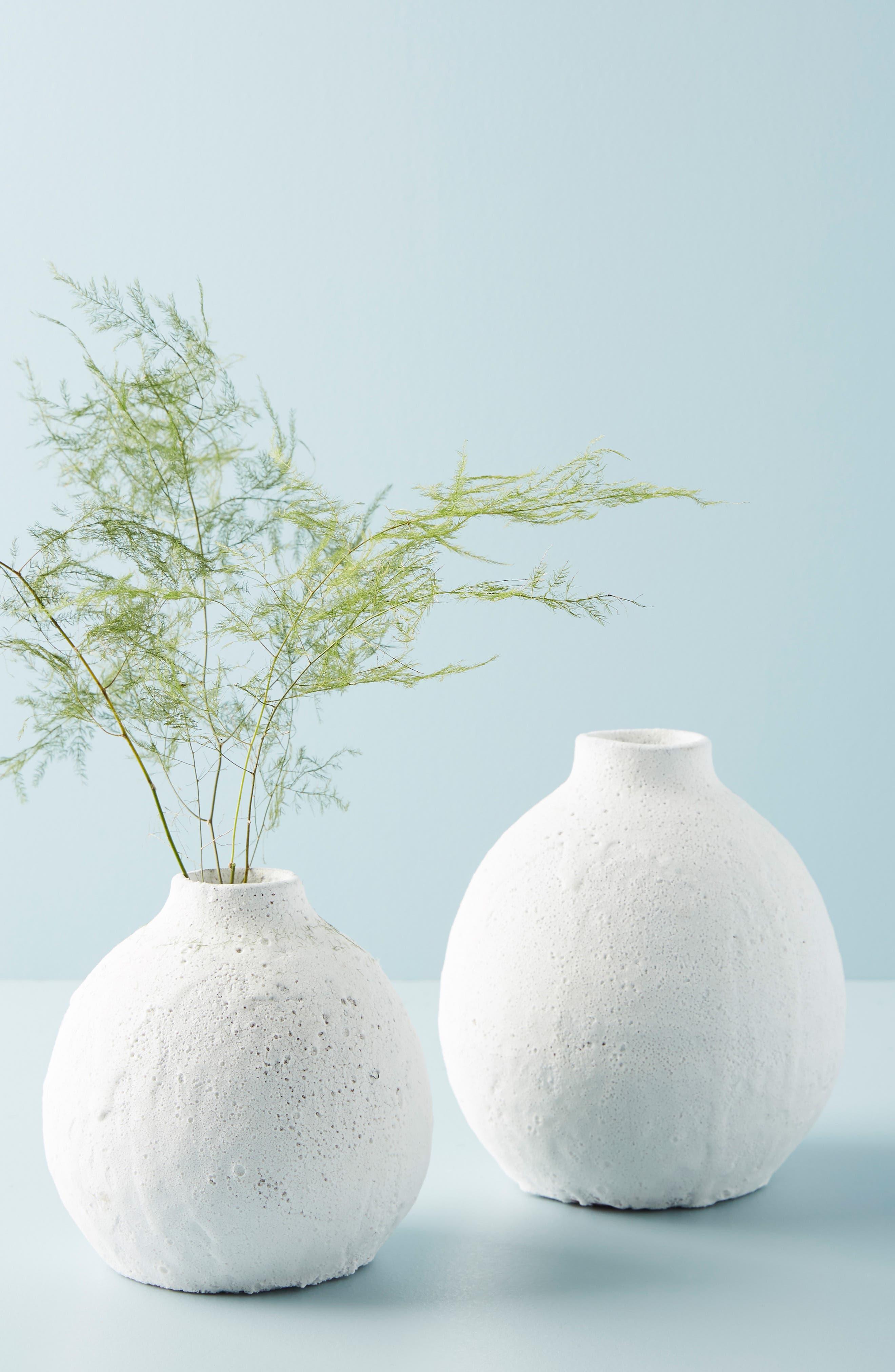 Small Lark Vase,                             Alternate thumbnail 3, color,                             WHITE