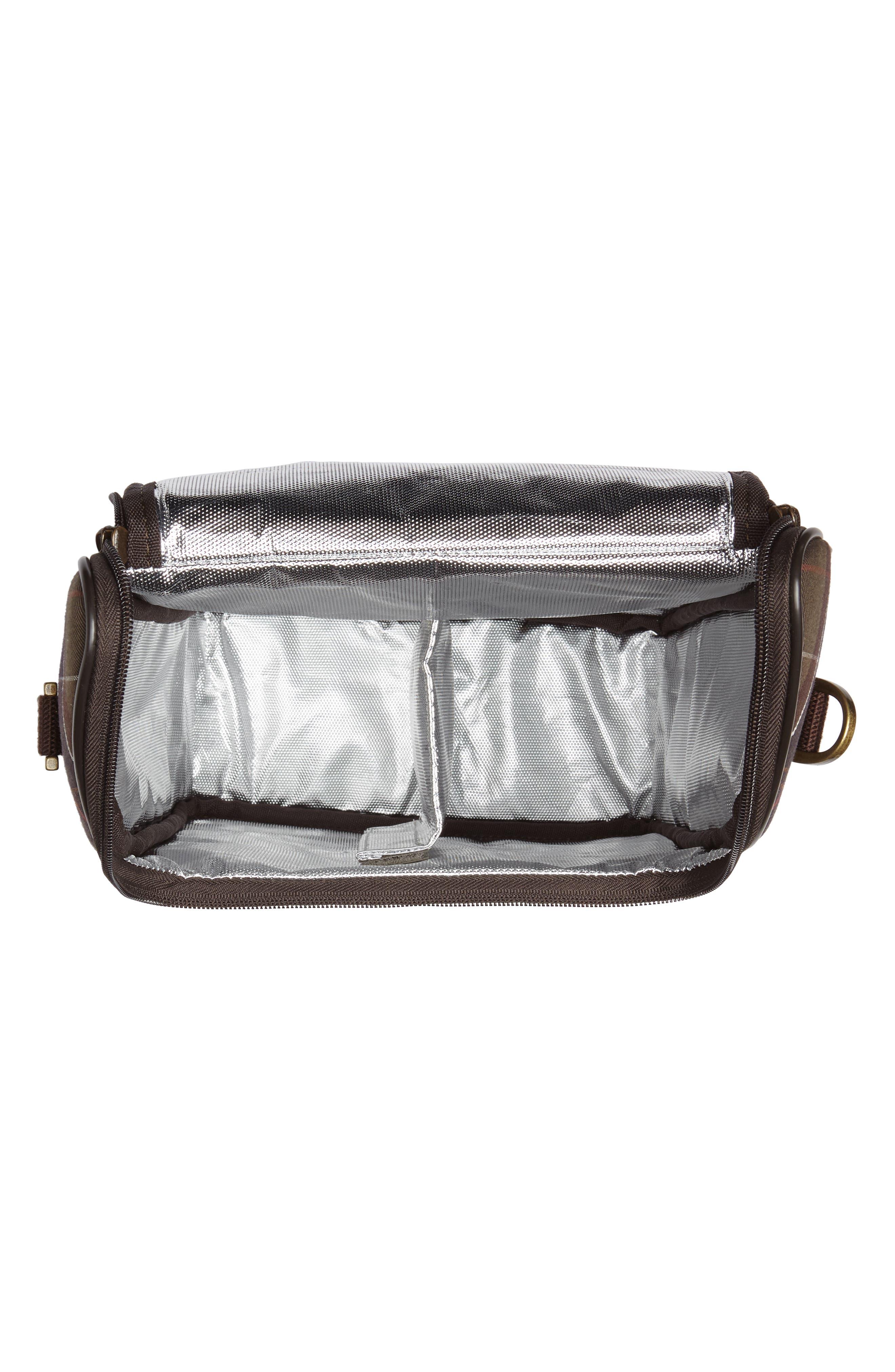 Tartan Cooler Bag,                             Alternate thumbnail 3, color,                             300