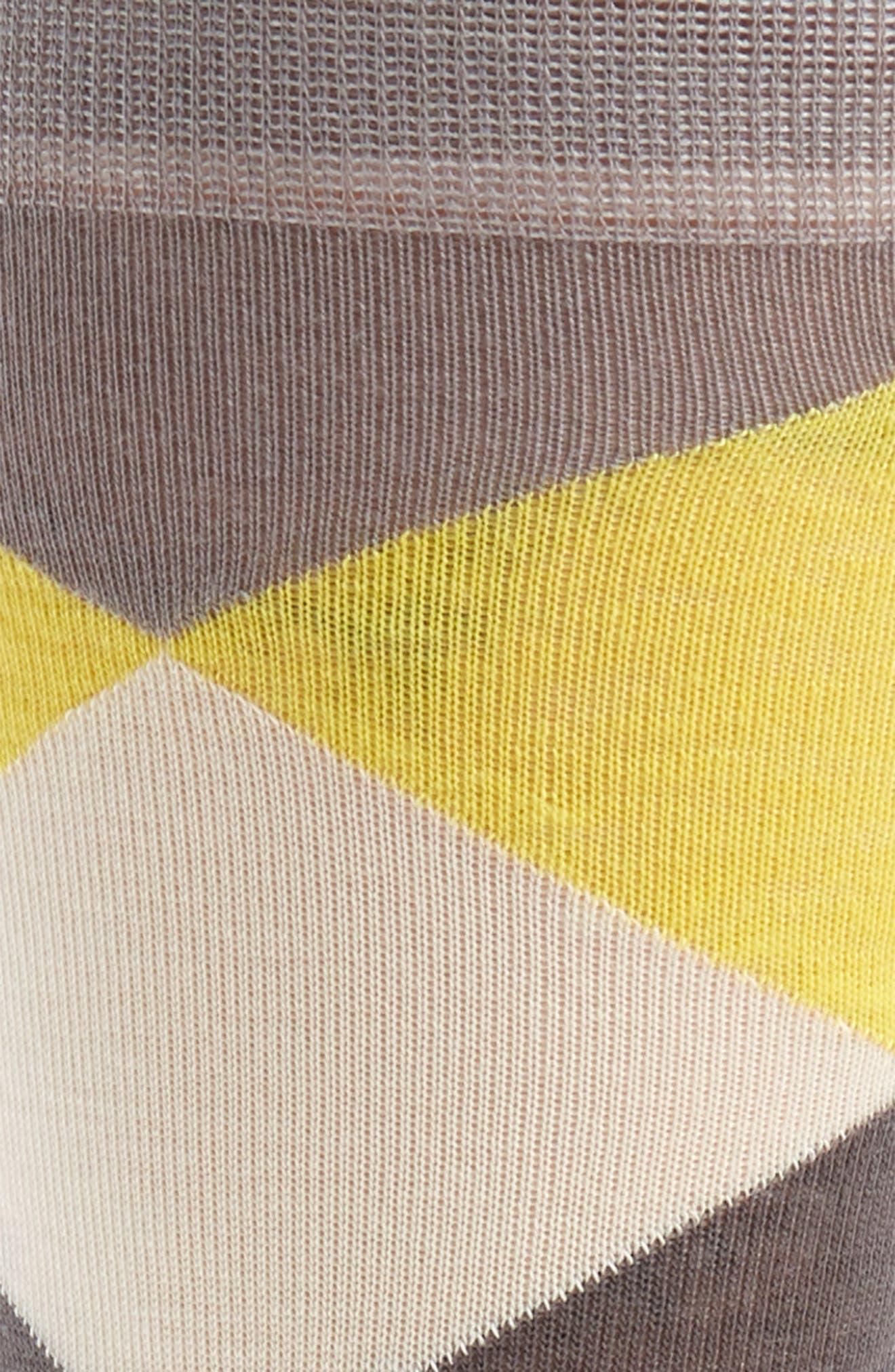 Large Diamond Crew Socks,                             Alternate thumbnail 2, color,                             030
