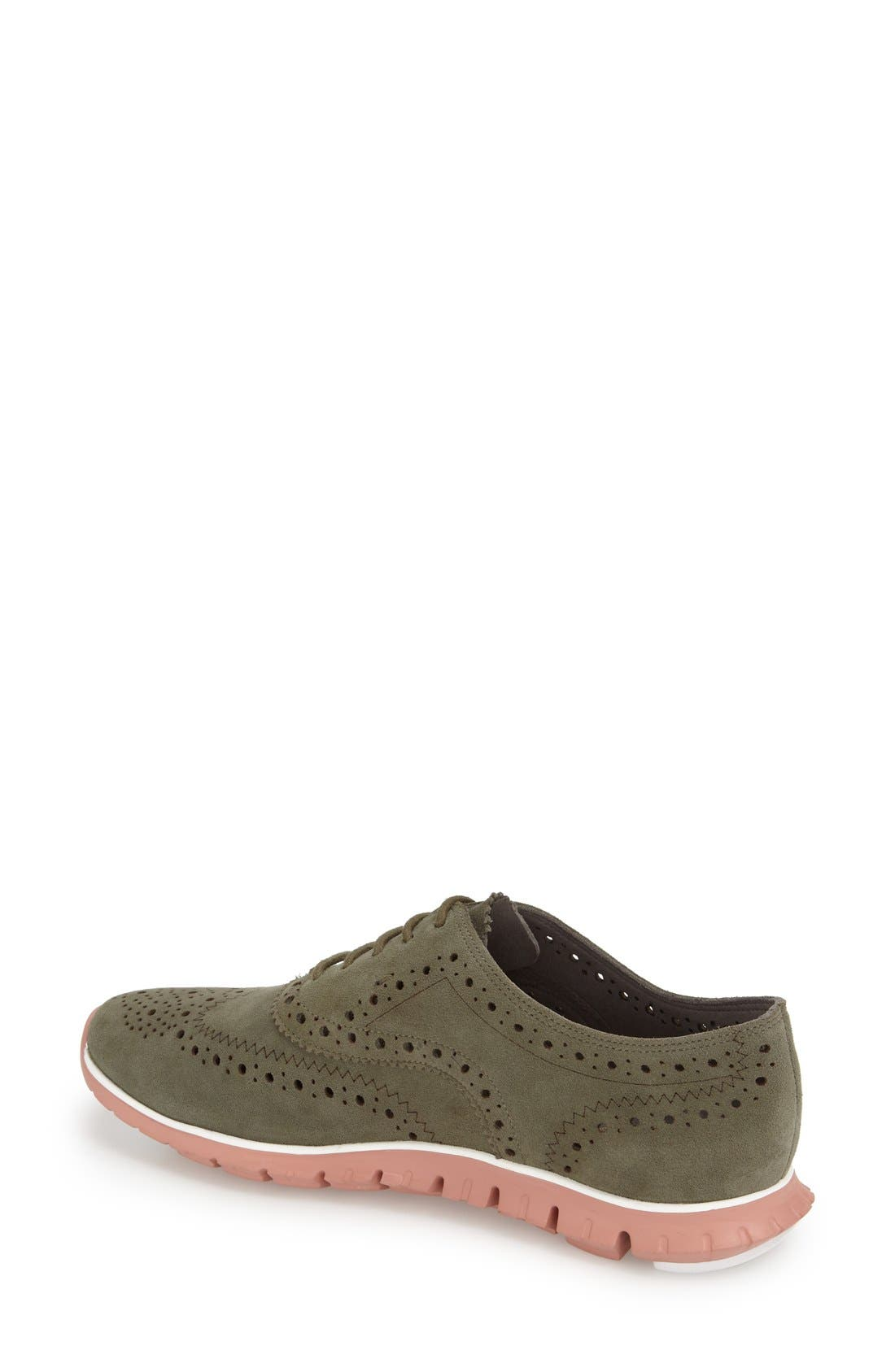 'ZeroGrand' Perforated Wingtip,                             Alternate thumbnail 75, color,