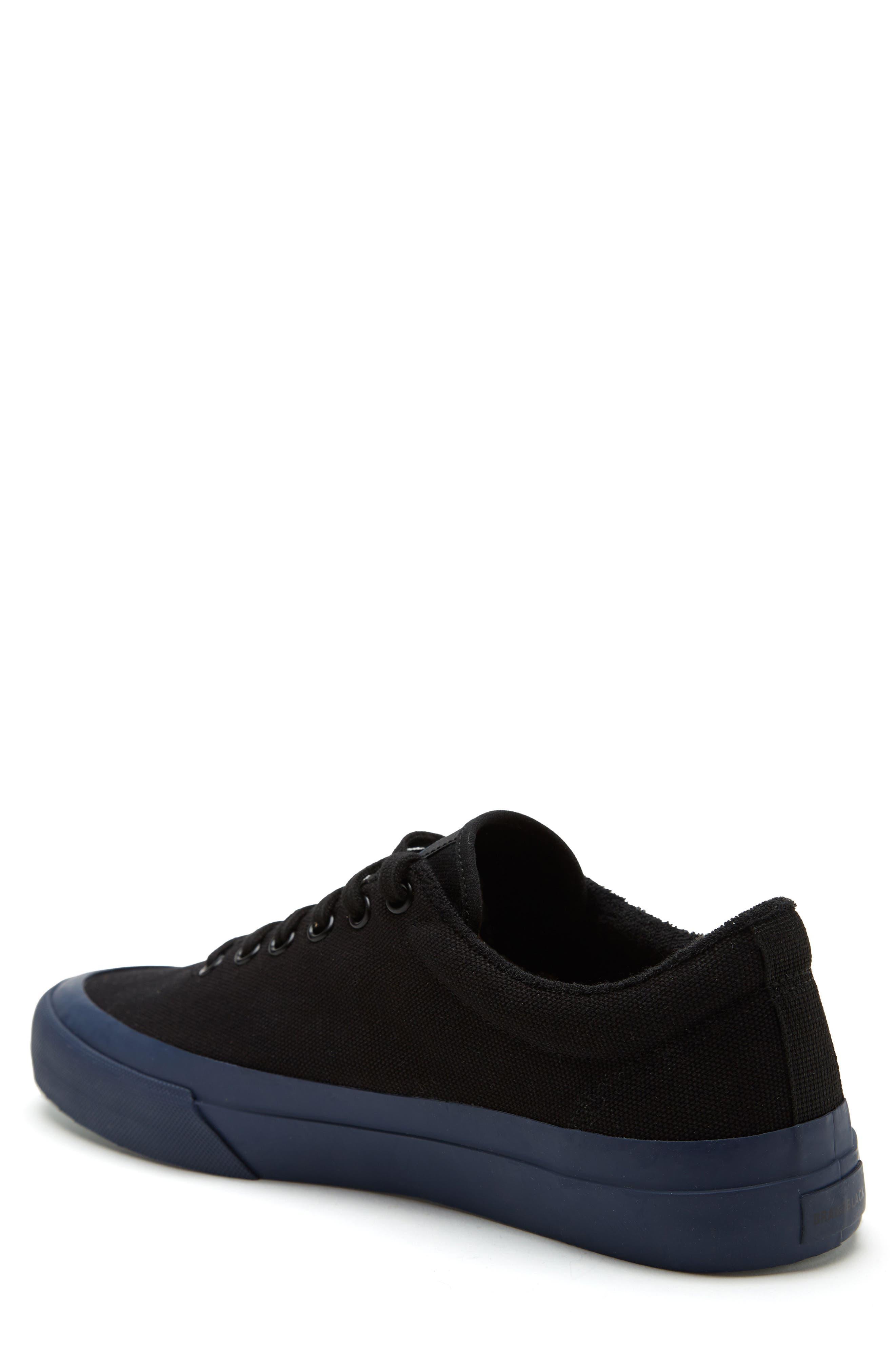 Vesta Low Top Sneaker,                             Alternate thumbnail 2, color,                             BLACK/ NAVY