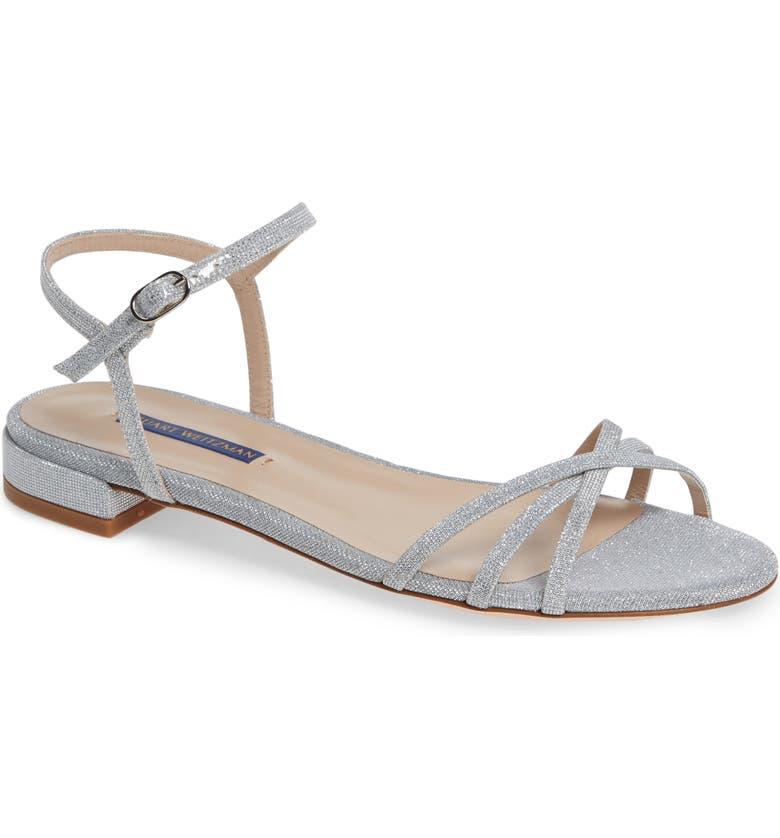 af3b58f5a Stuart Weitzman Starla Quarter Strap Flat Sandals (Women)