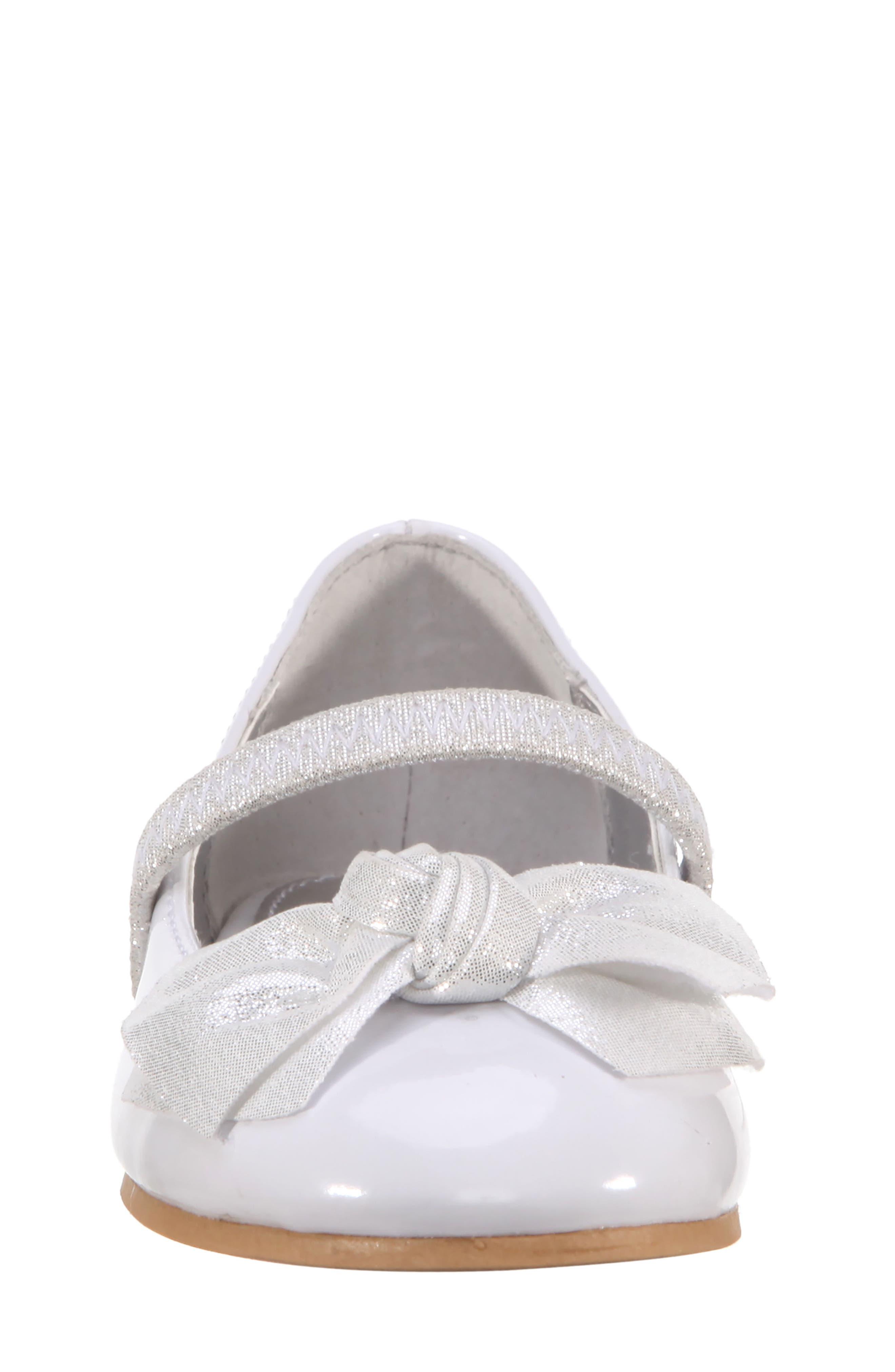 Kaytelyn-T Glitter Bow Ballet Flat,                             Alternate thumbnail 23, color,