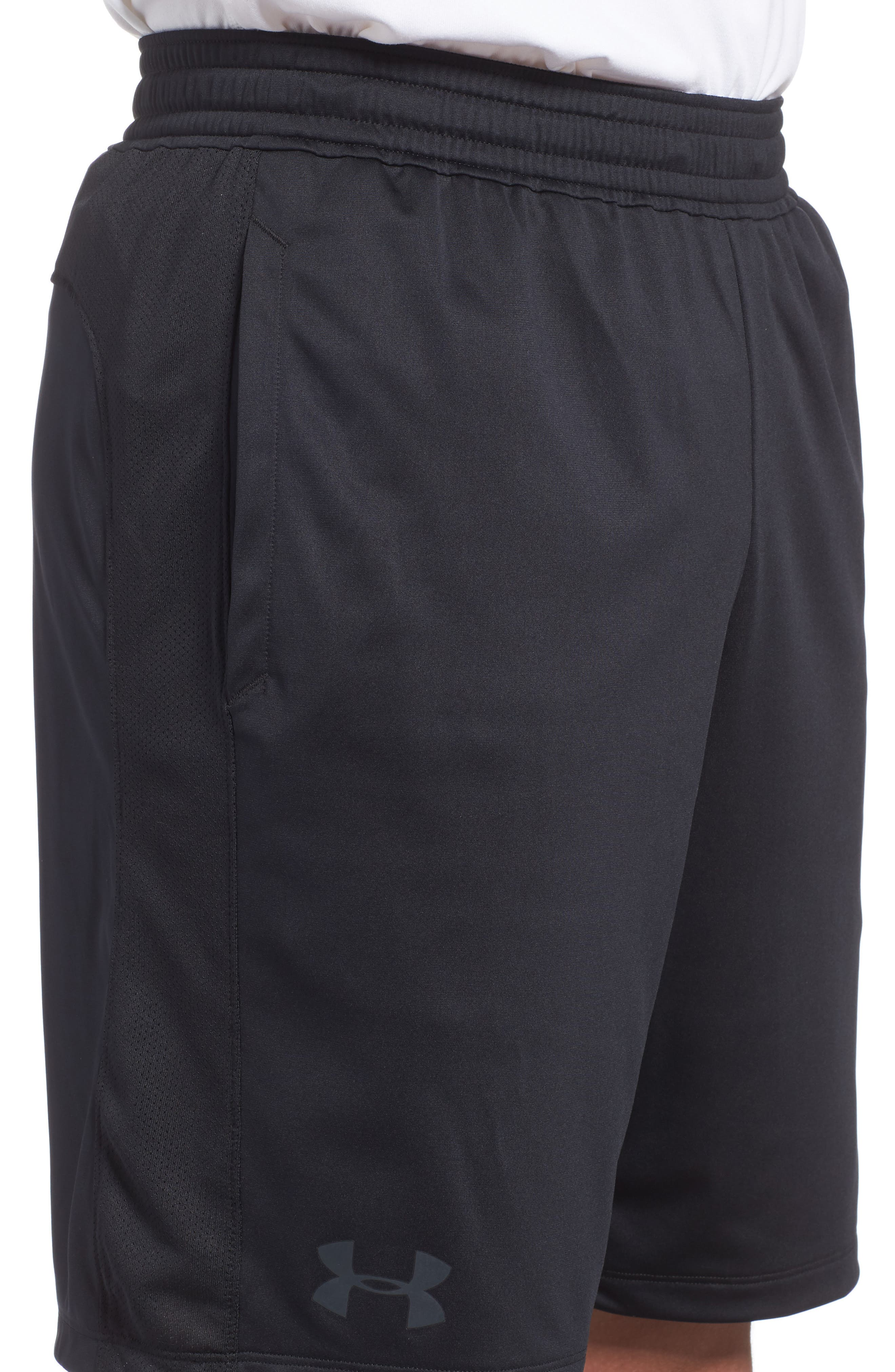 Raid 2.0 Classic Fit Shorts,                             Alternate thumbnail 4, color,                             BLACK