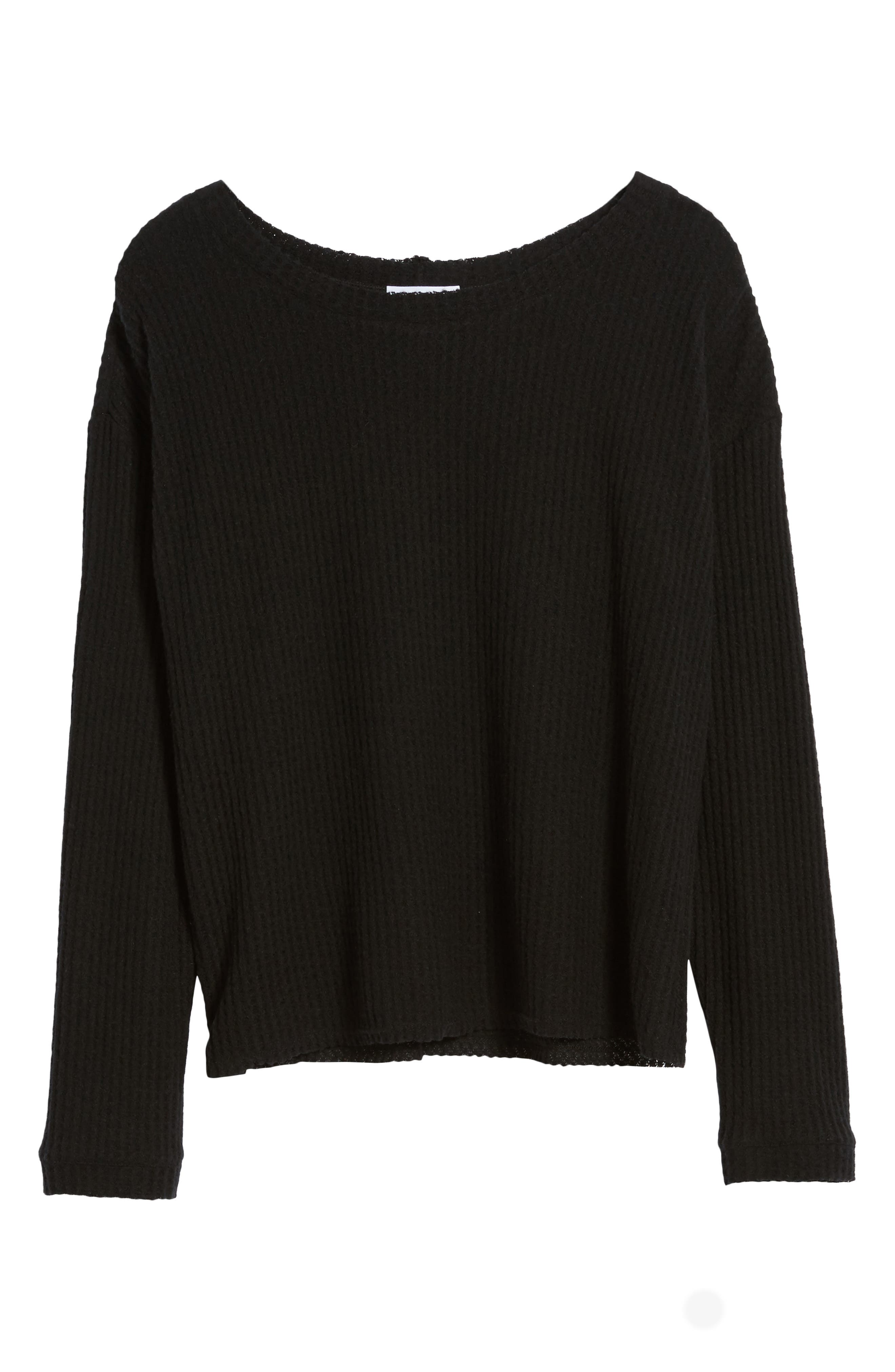 Waffle Knit Top,                             Alternate thumbnail 21, color,