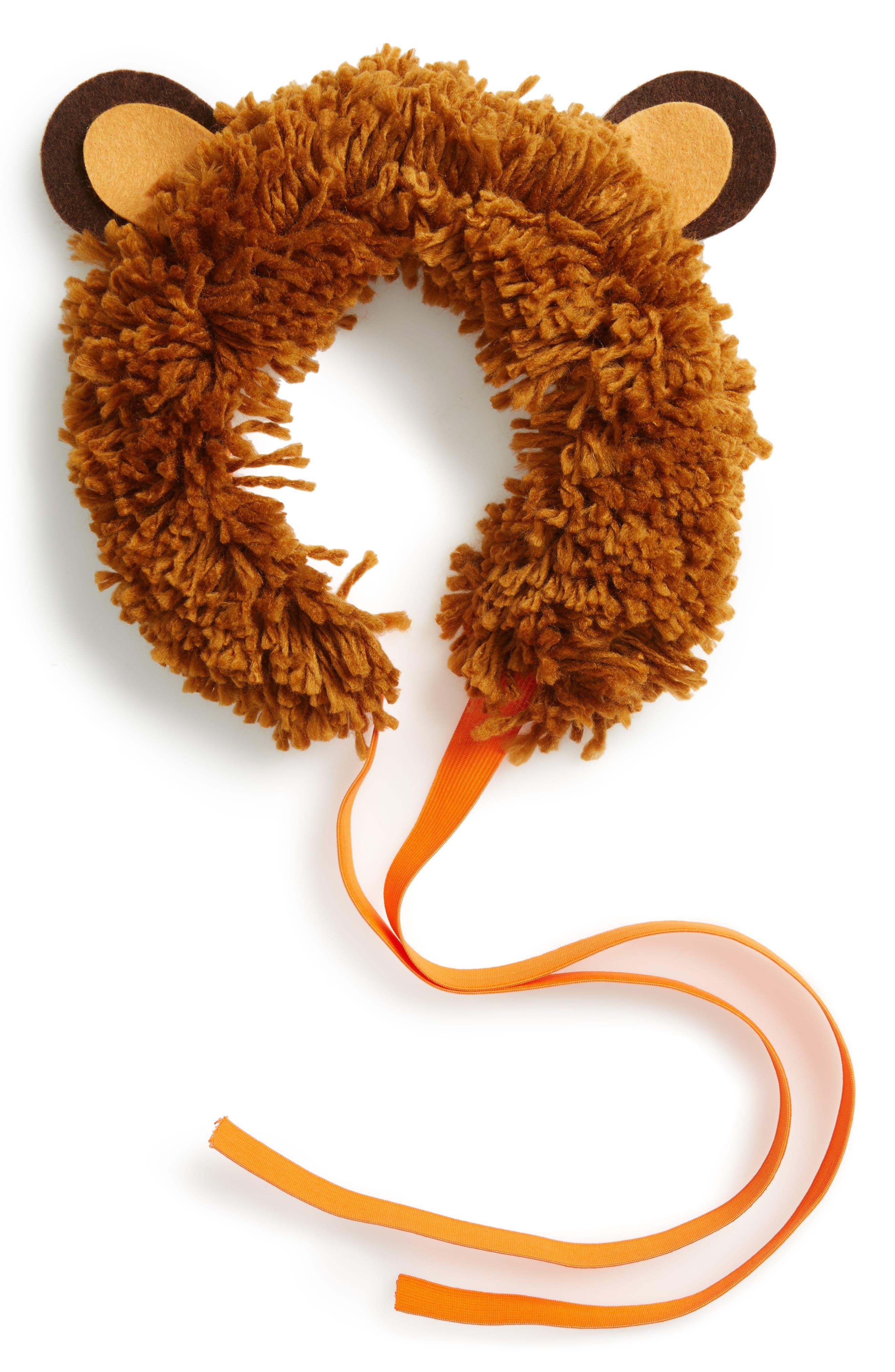 Lion Mane Headwrap,                         Main,                         color,