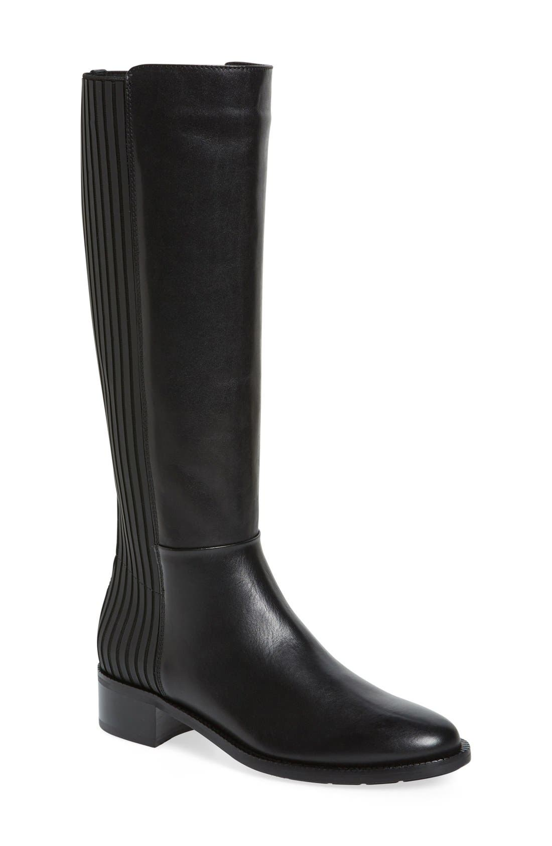 Orlena Weatherproof Tall Boot, Main, color, 001