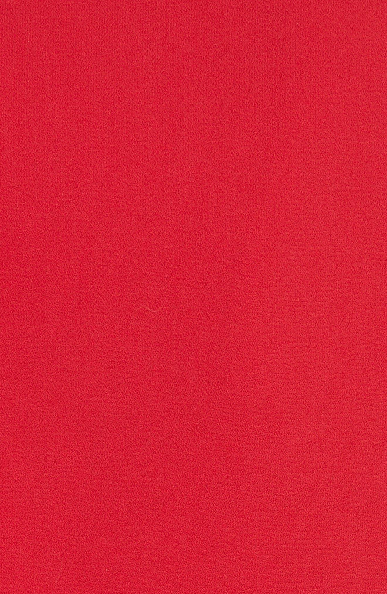 Coley Cold Shoulder A-Line Dress,                             Alternate thumbnail 5, color,                             623