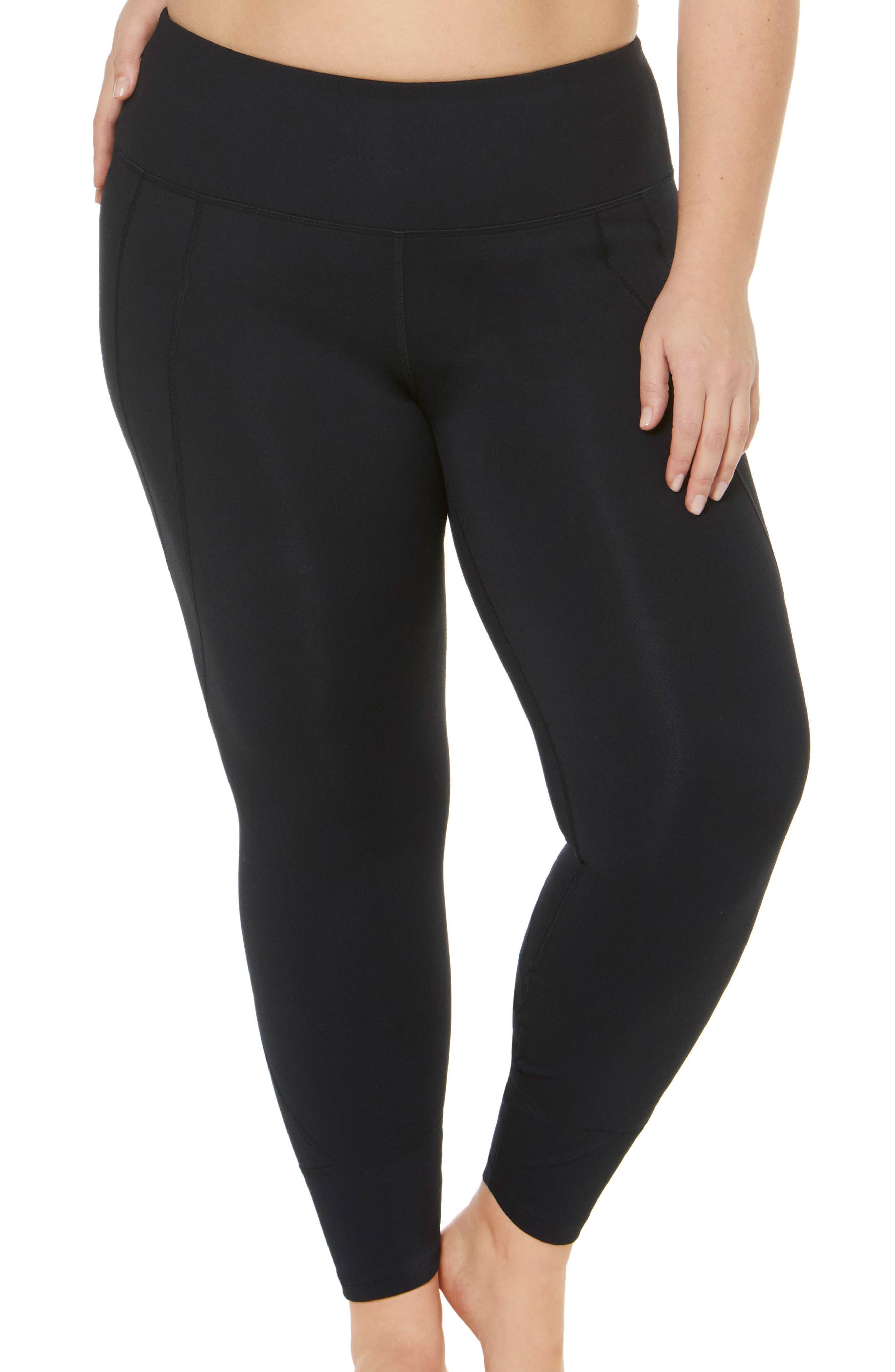 Plus Women's Shape Activewear High Rise SS Leggings