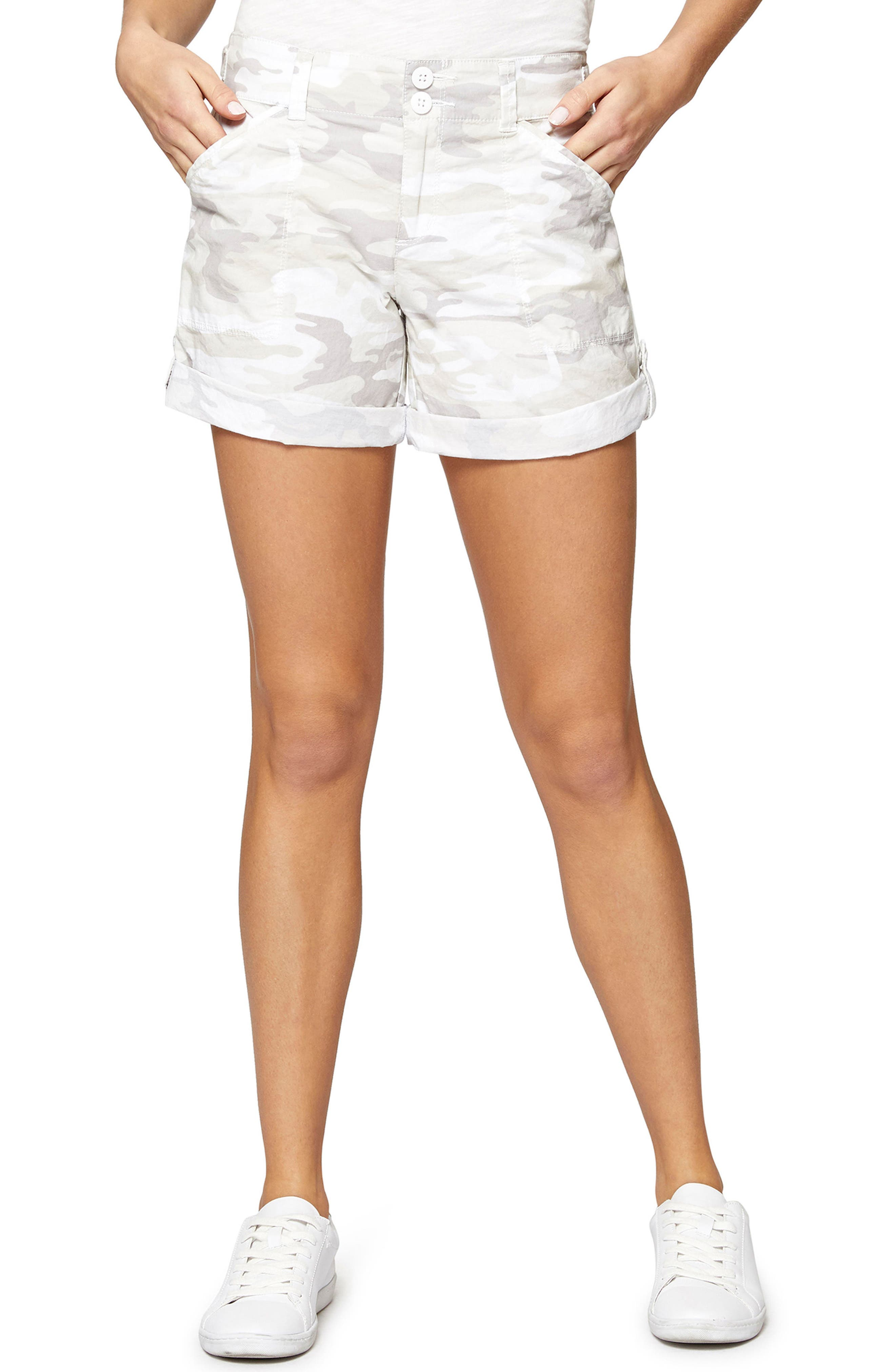 Wanderer Camouflage Shorts,                         Main,                         color, 197