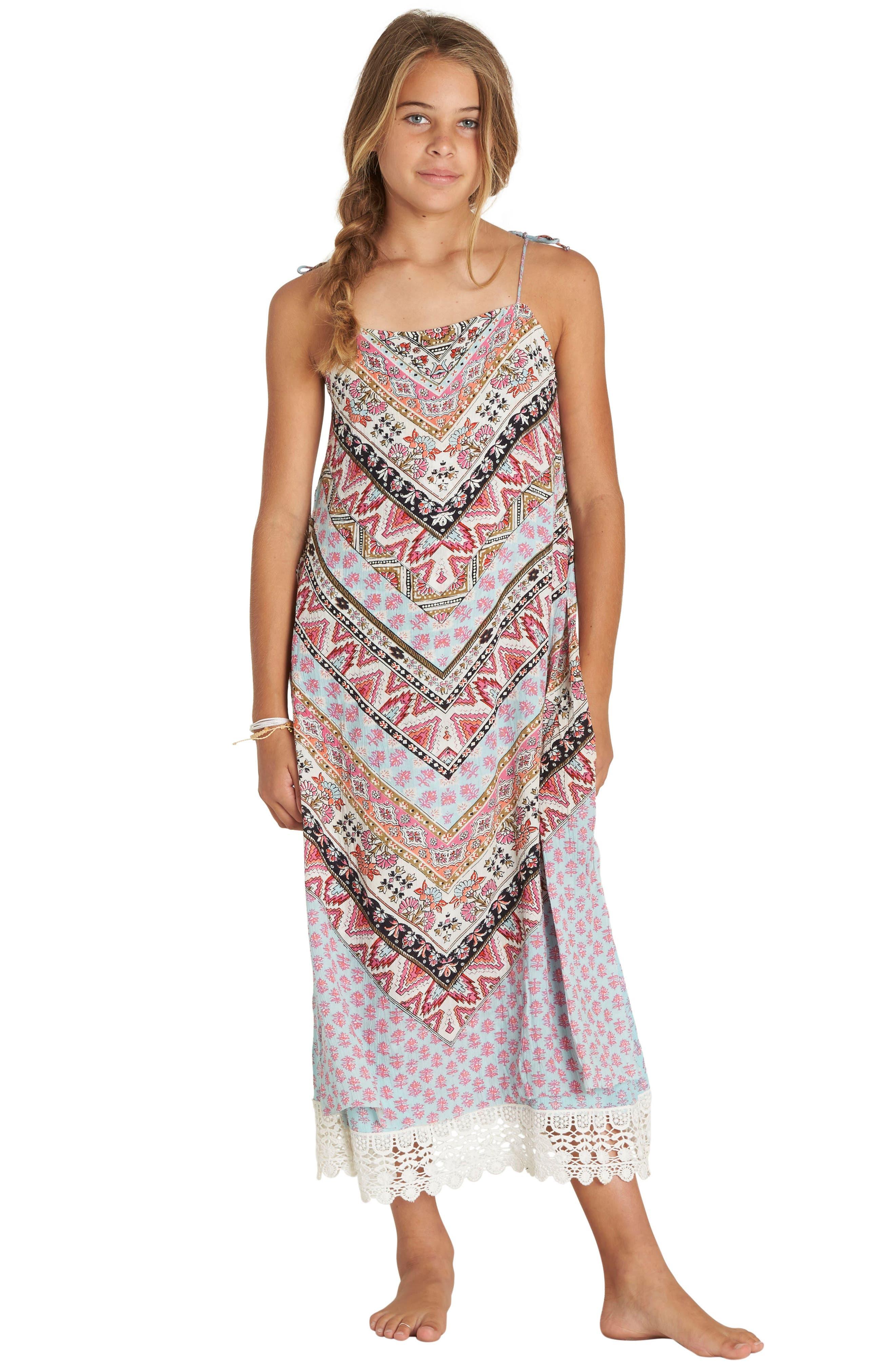 Night Kid Maxi Dress,                             Alternate thumbnail 2, color,                             653