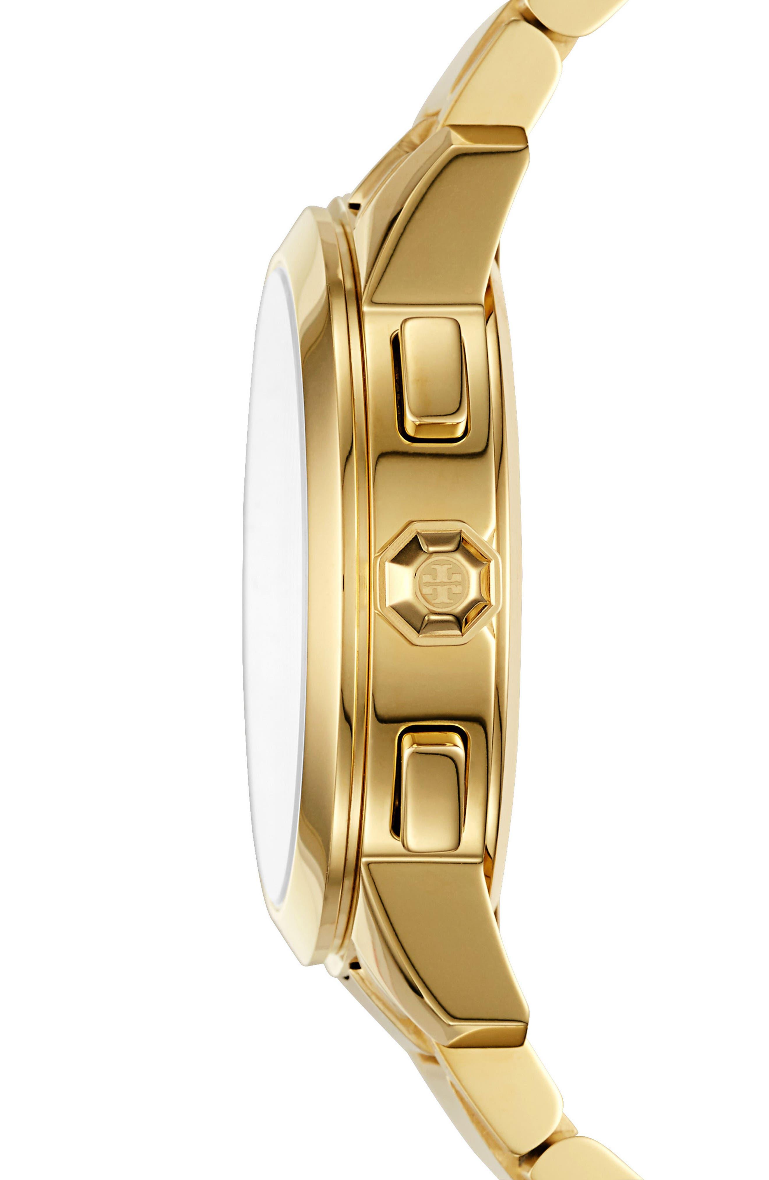 Collins Chronograph Bracelet Watch, 38mm,                             Alternate thumbnail 6, color,