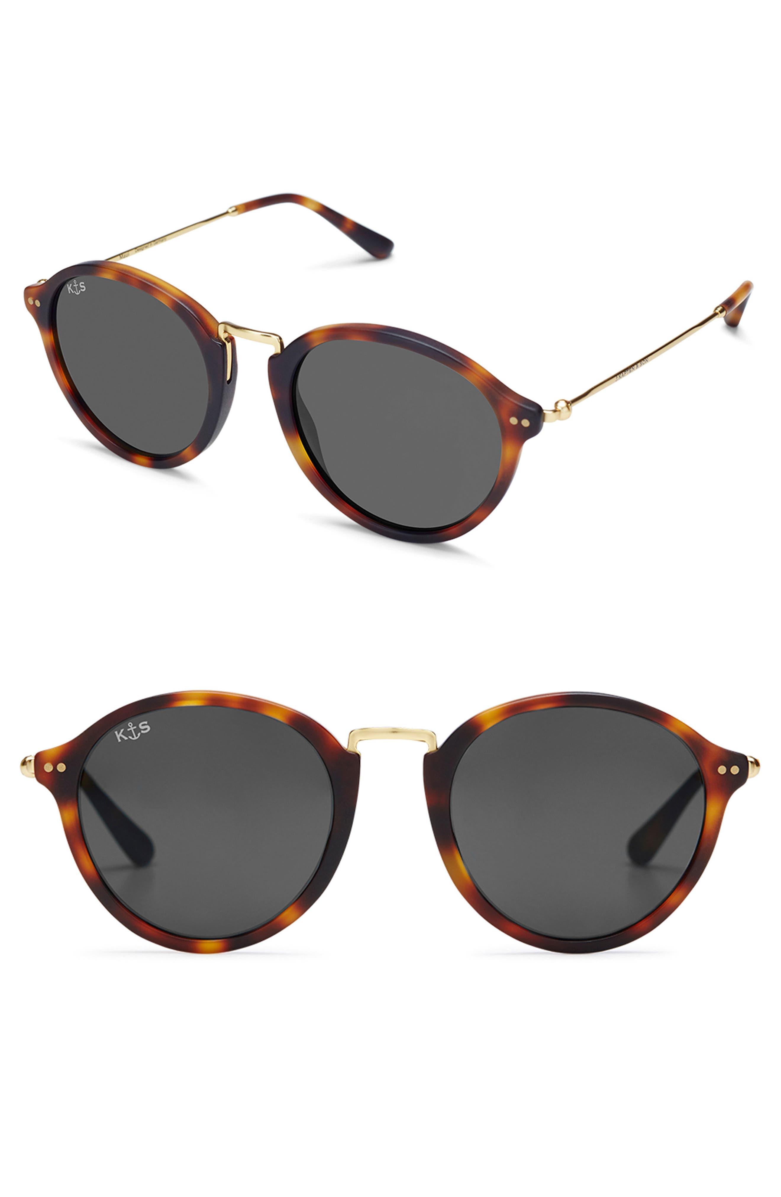 Maui 48mm Sunglasses,                             Main thumbnail 1, color,                             TORTOISE/ BLACK