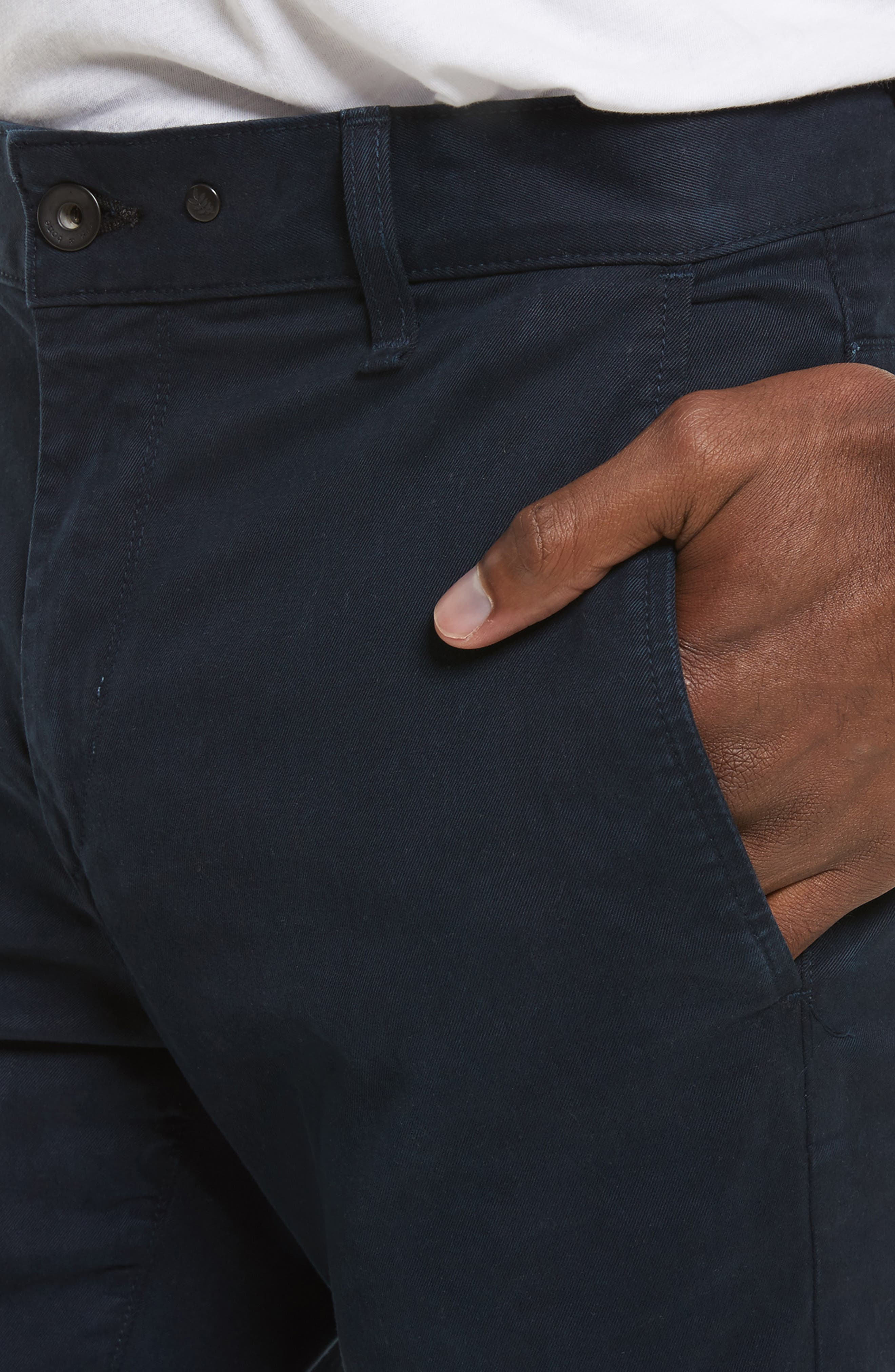 Fit 1 Chinos,                             Alternate thumbnail 4, color,                             NAVY