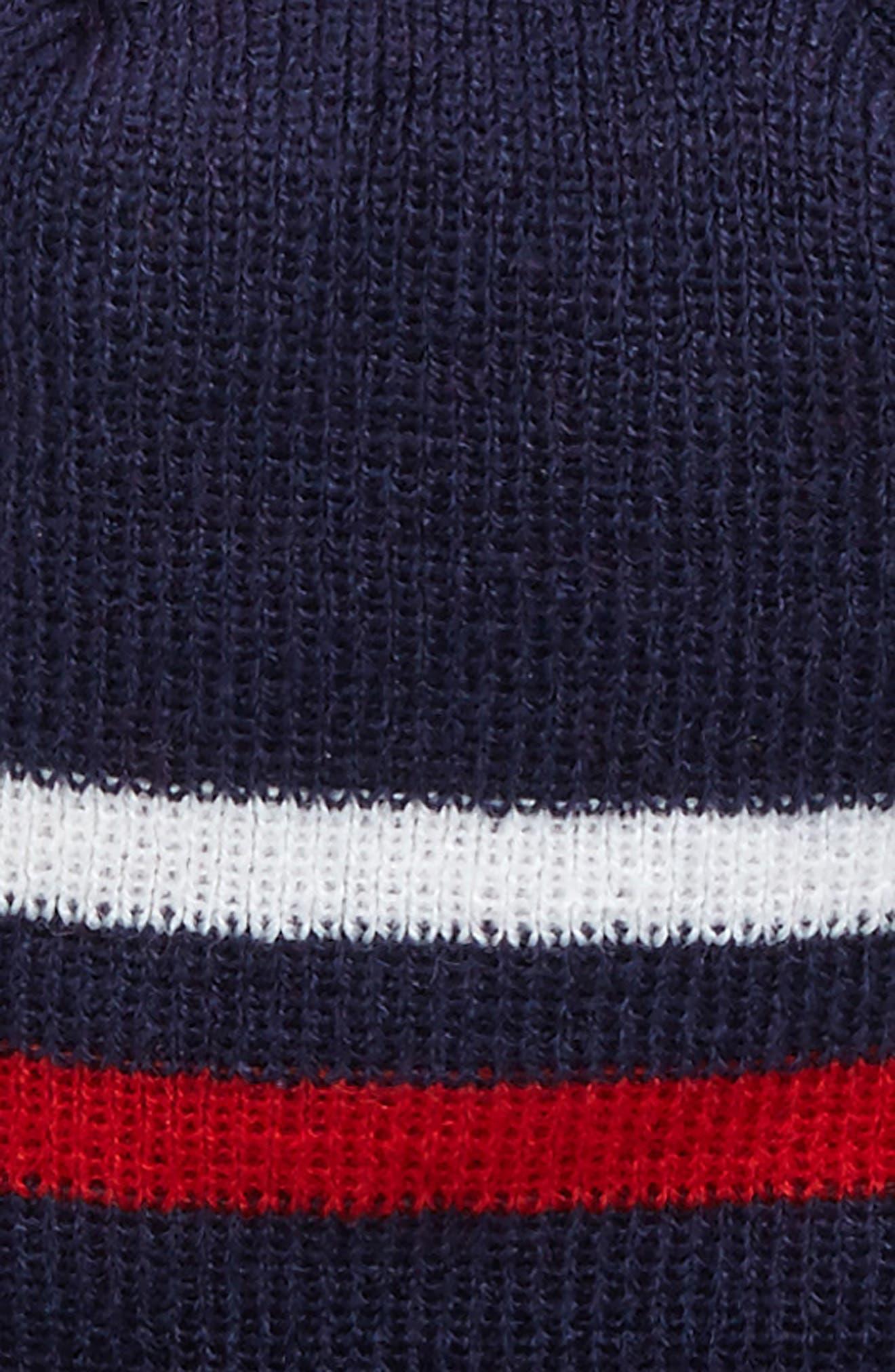 NFL Logo Pom Beanie & Tech Gloves Set,                             Alternate thumbnail 13, color,