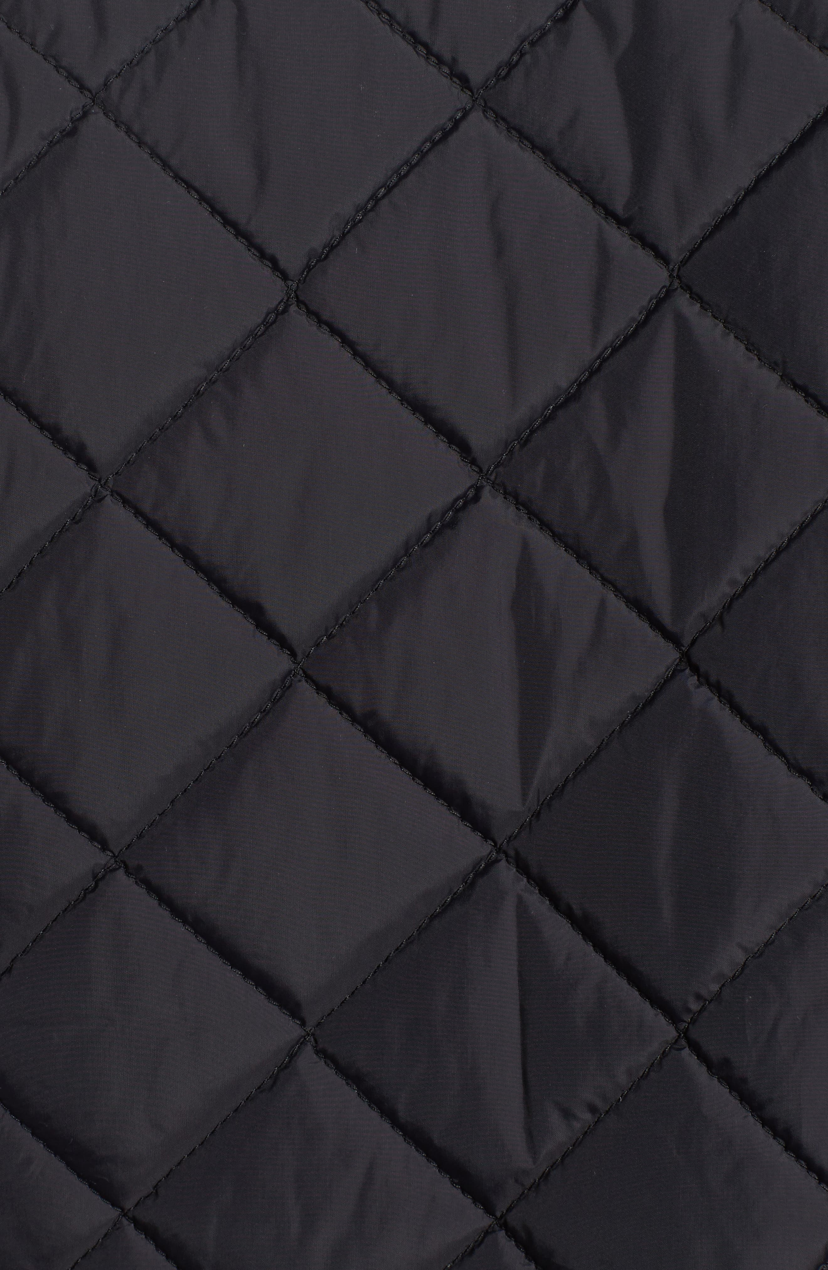 Diamond Quilted Full Zip Jacket,                             Alternate thumbnail 12, color,