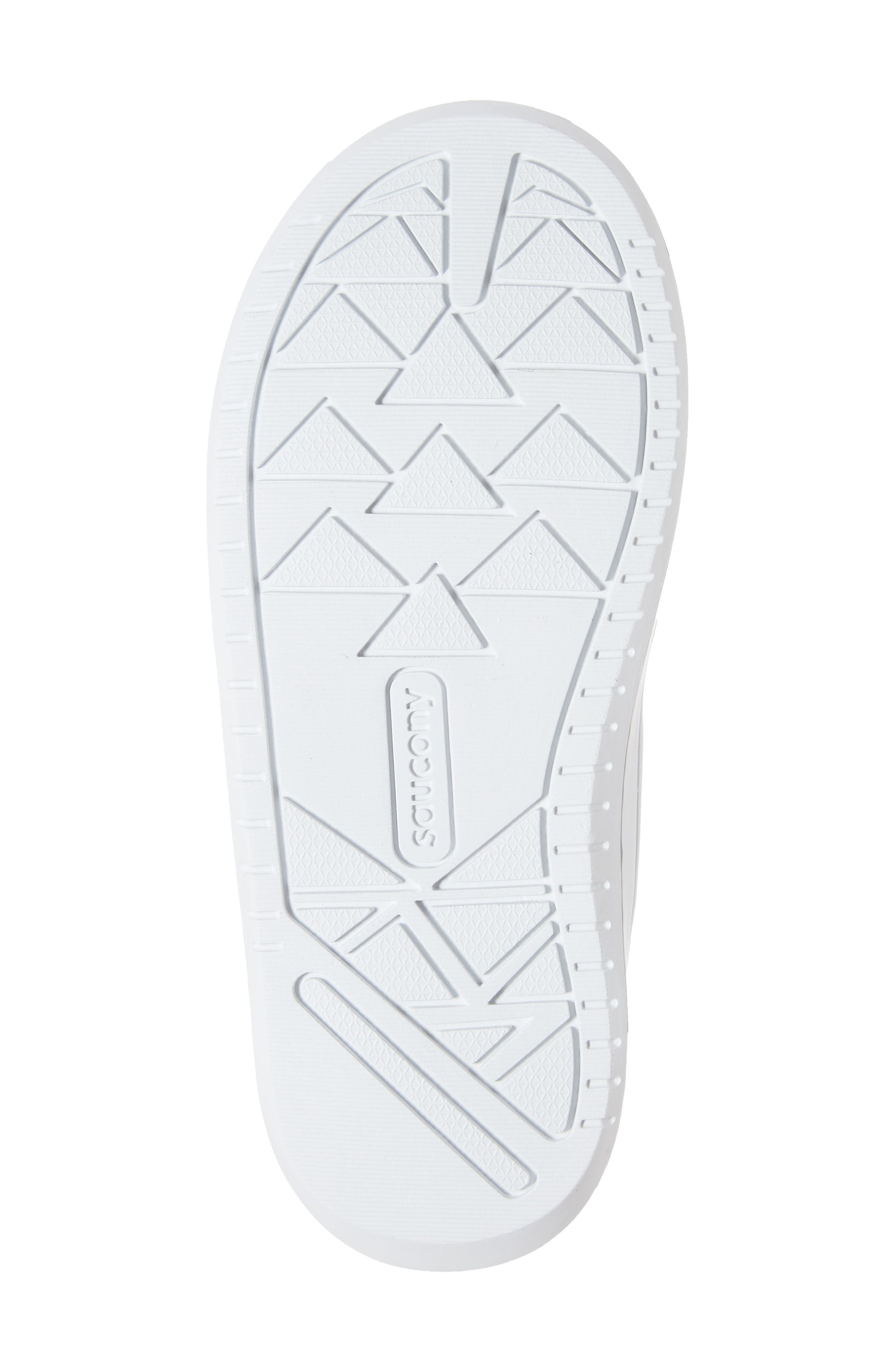Jazz Court Sneaker,                             Alternate thumbnail 6, color,                             WHITE