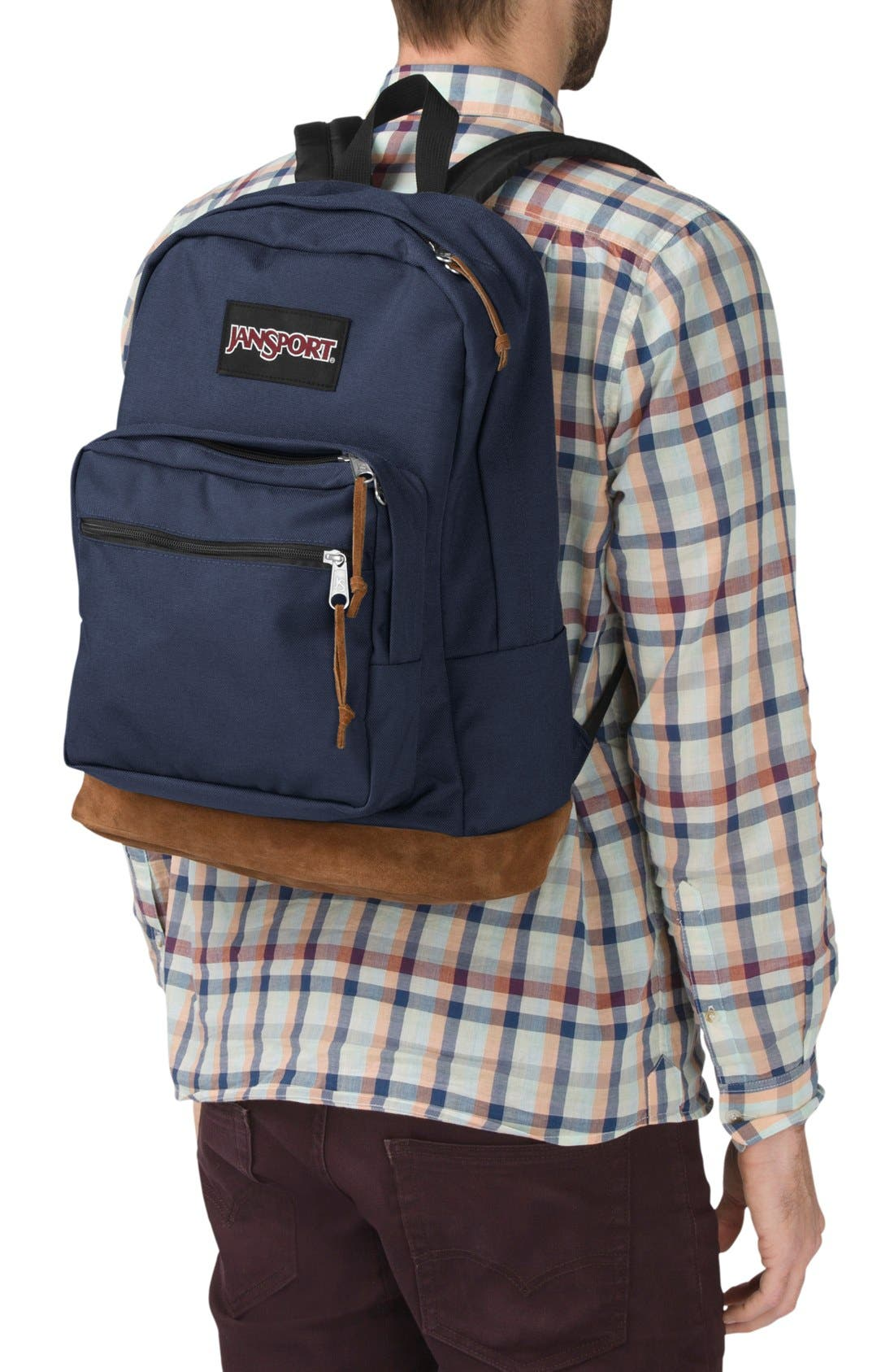 'Right Pack' Backpack,                             Alternate thumbnail 7, color,                             NAVY